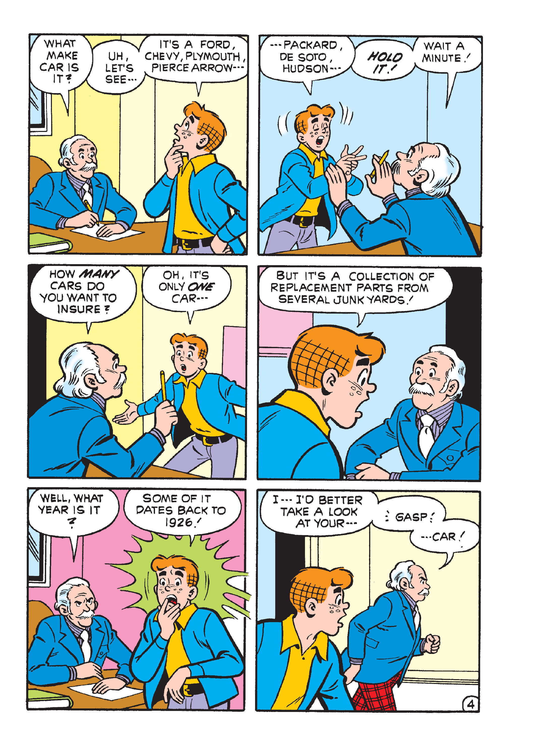 Read online Archie's Funhouse Double Digest comic -  Issue #15 - 88
