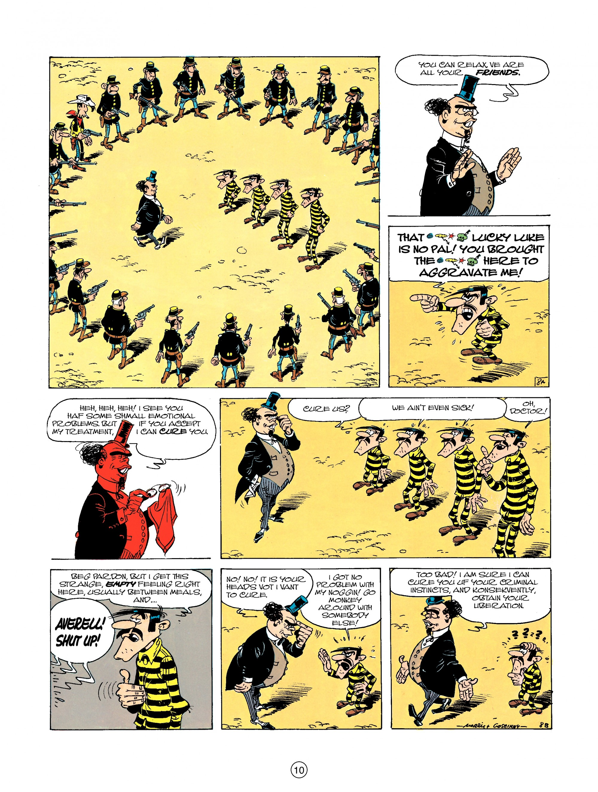 Read online A Lucky Luke Adventure comic -  Issue #23 - 10
