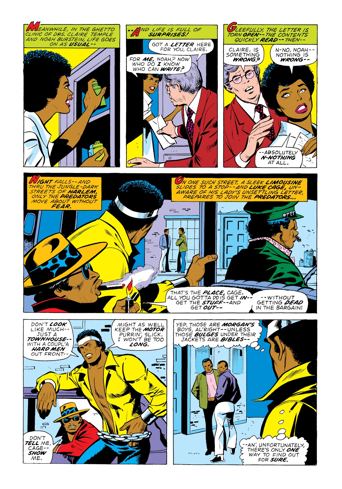 Read online Marvel Masterworks: Luke Cage, Power Man comic -  Issue # TPB 2 (Part 1) - 61