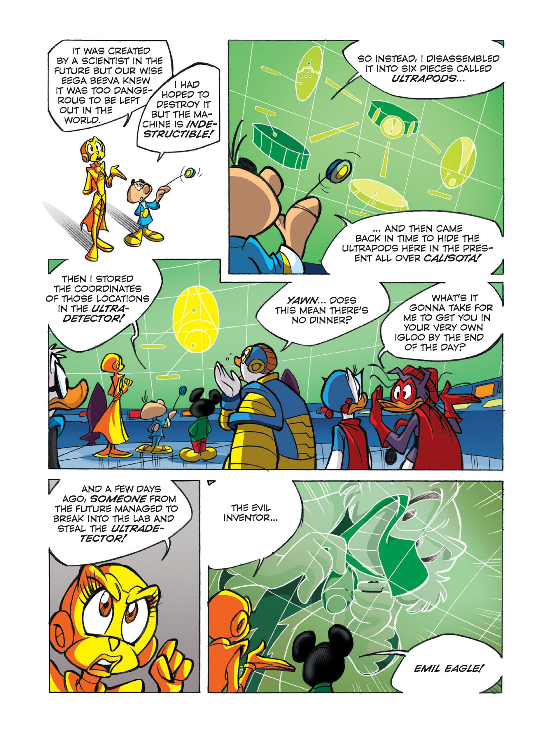 Read online Ultraheroes comic -  Issue #1 - 17