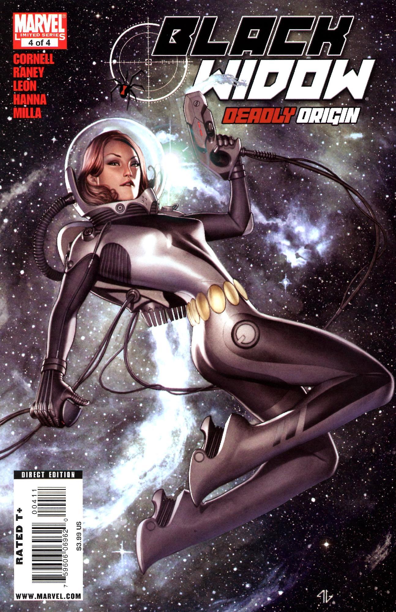 Black Widow: Deadly Origin 4 Page 1