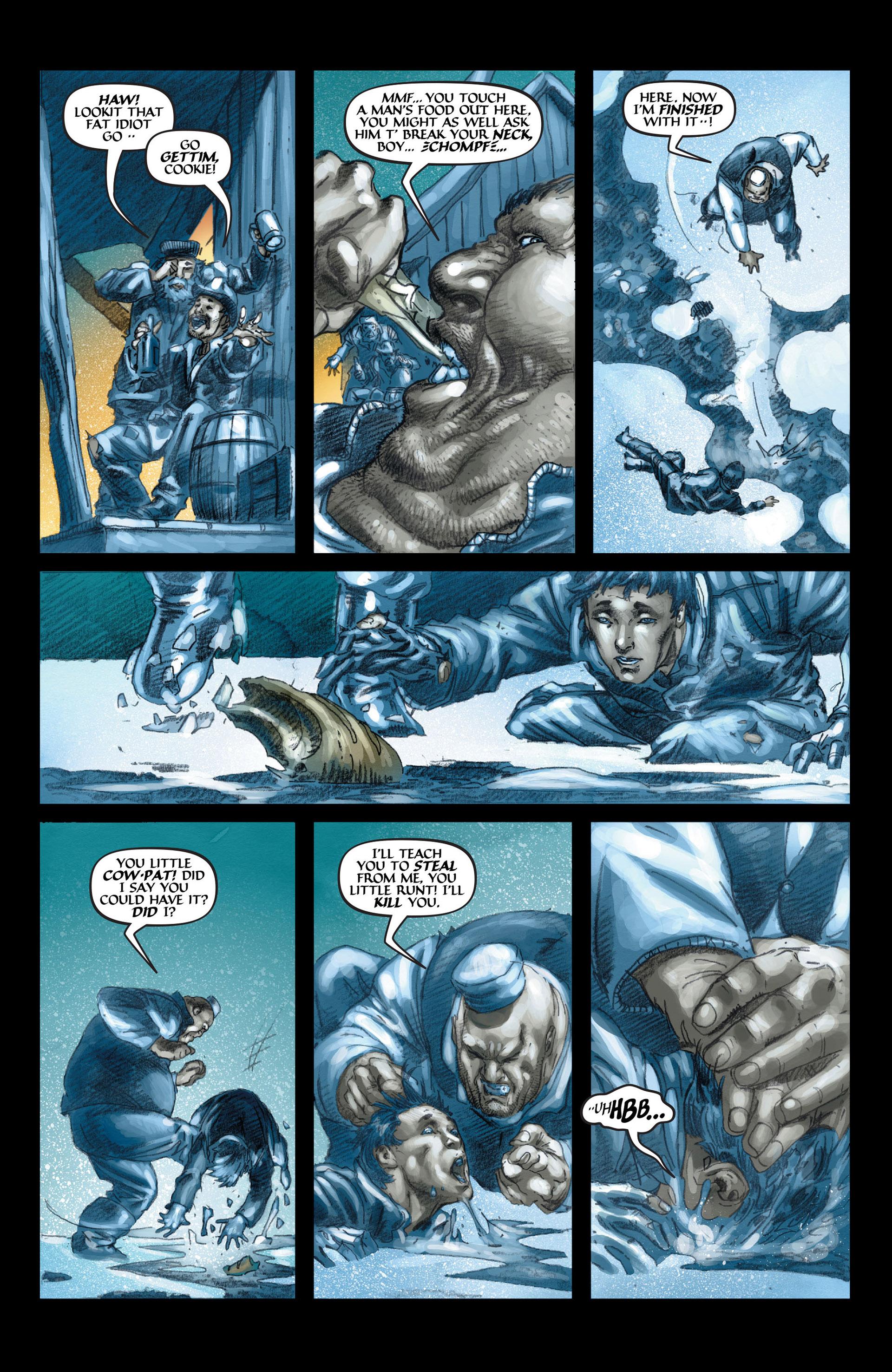 Read online Wolverine: The Origin comic -  Issue #4 - 11