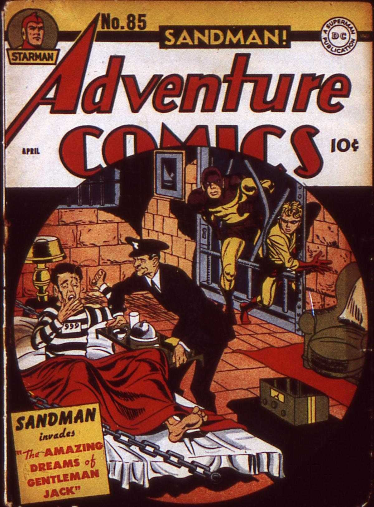 Read online Adventure Comics (1938) comic -  Issue #85 - 1