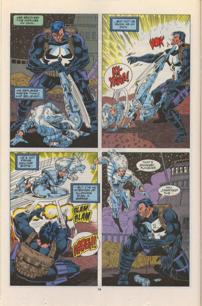 Read online Silver Sable and the Wild Pack comic -  Issue #10 - 11