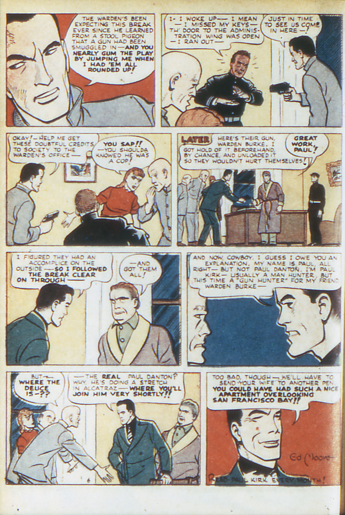 Read online Adventure Comics (1938) comic -  Issue #64 - 47