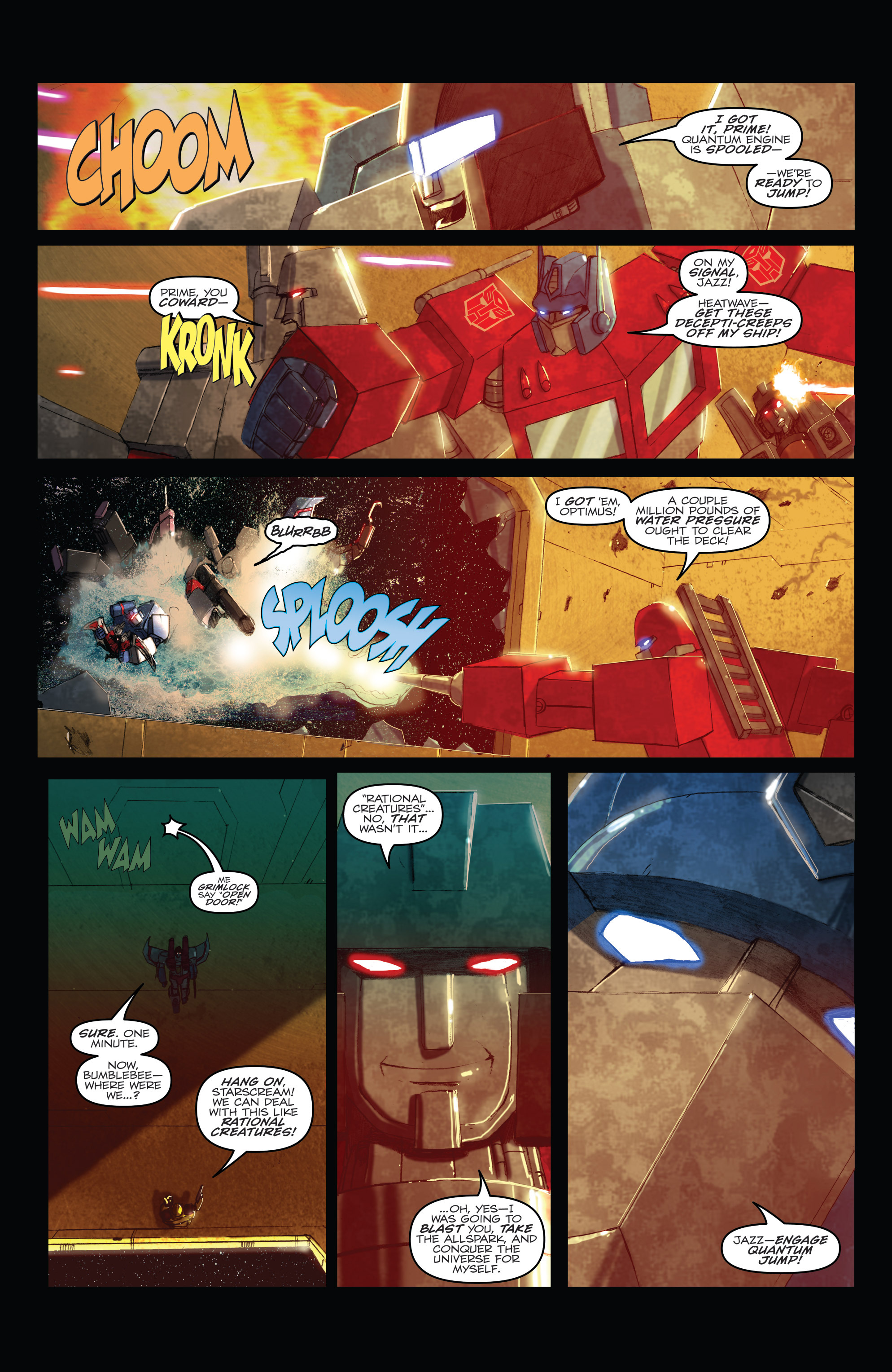 Read online Angry Birds Transformers comic -  Issue #1 - 6
