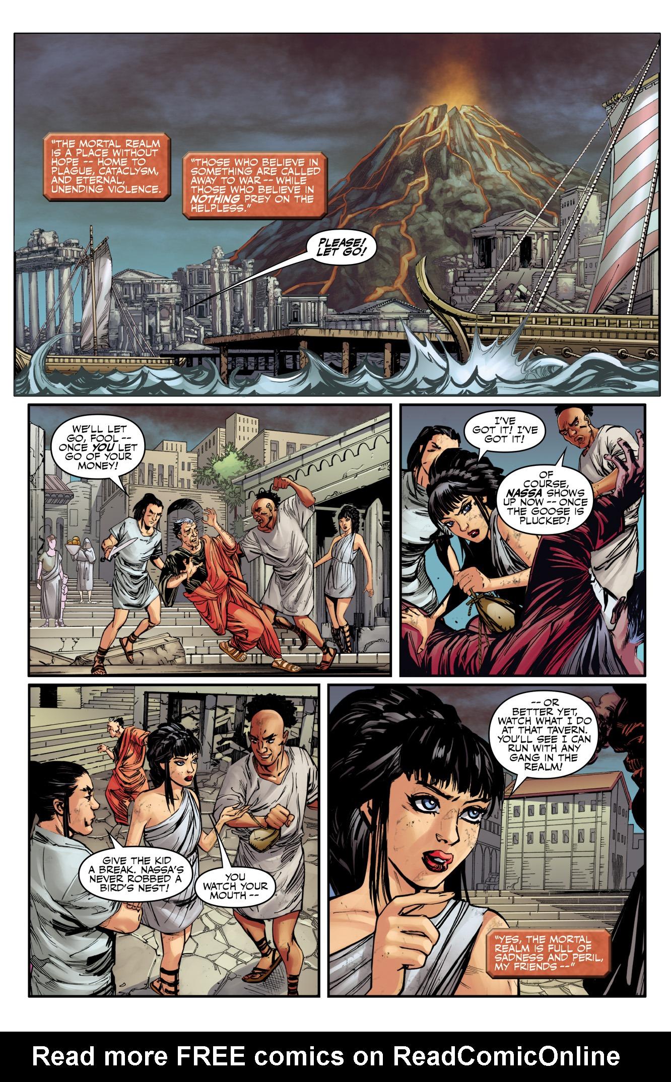 Read online SMITE comic -  Issue # Full - 3