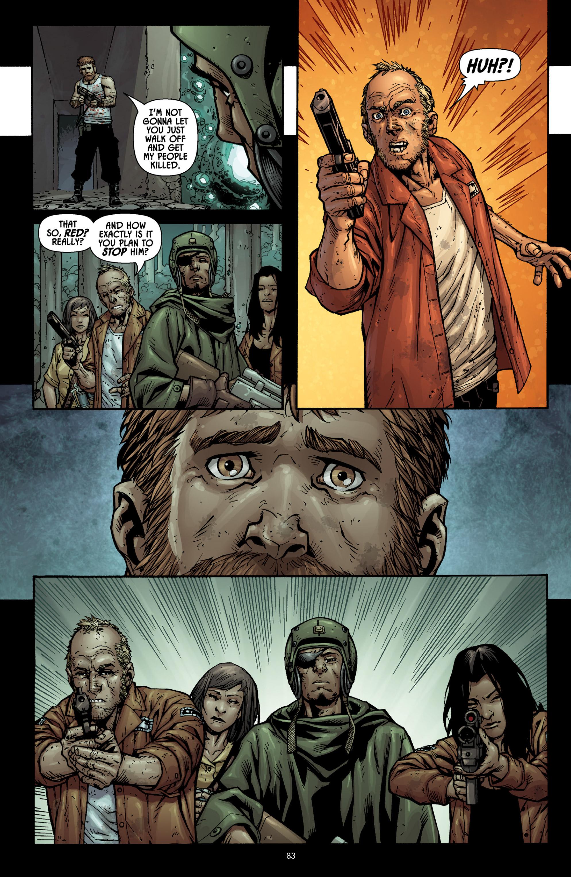 Read online Aliens (2009) comic -  Issue # TPB - 78