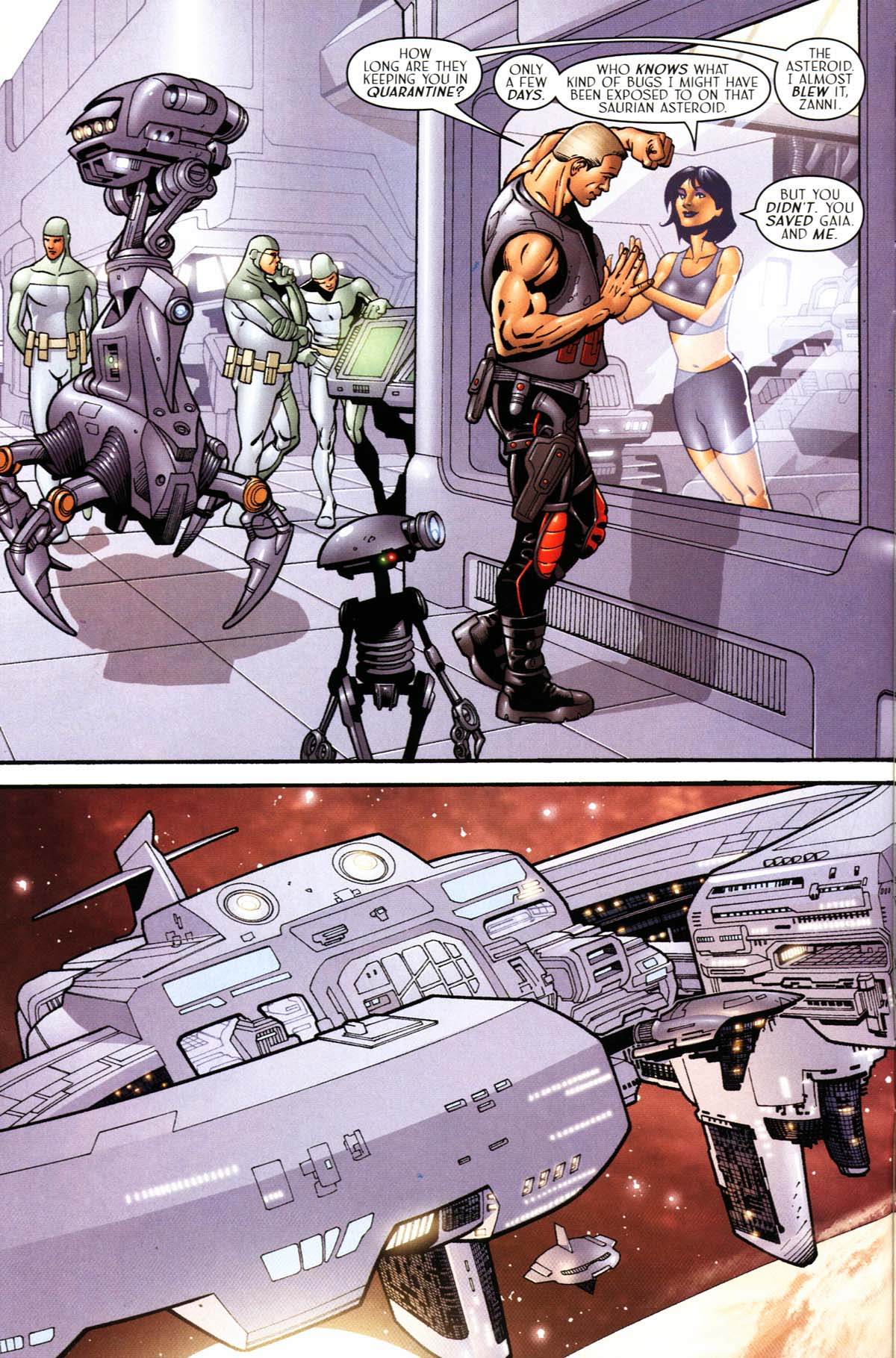 Read online Sigil (2000) comic -  Issue #24 - 4