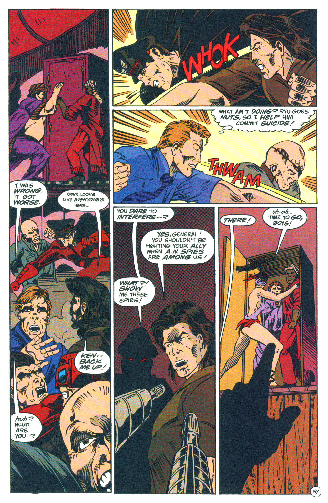 Read online Street Fighter: The Battle For Shadaloo comic -  Issue # Full - 32