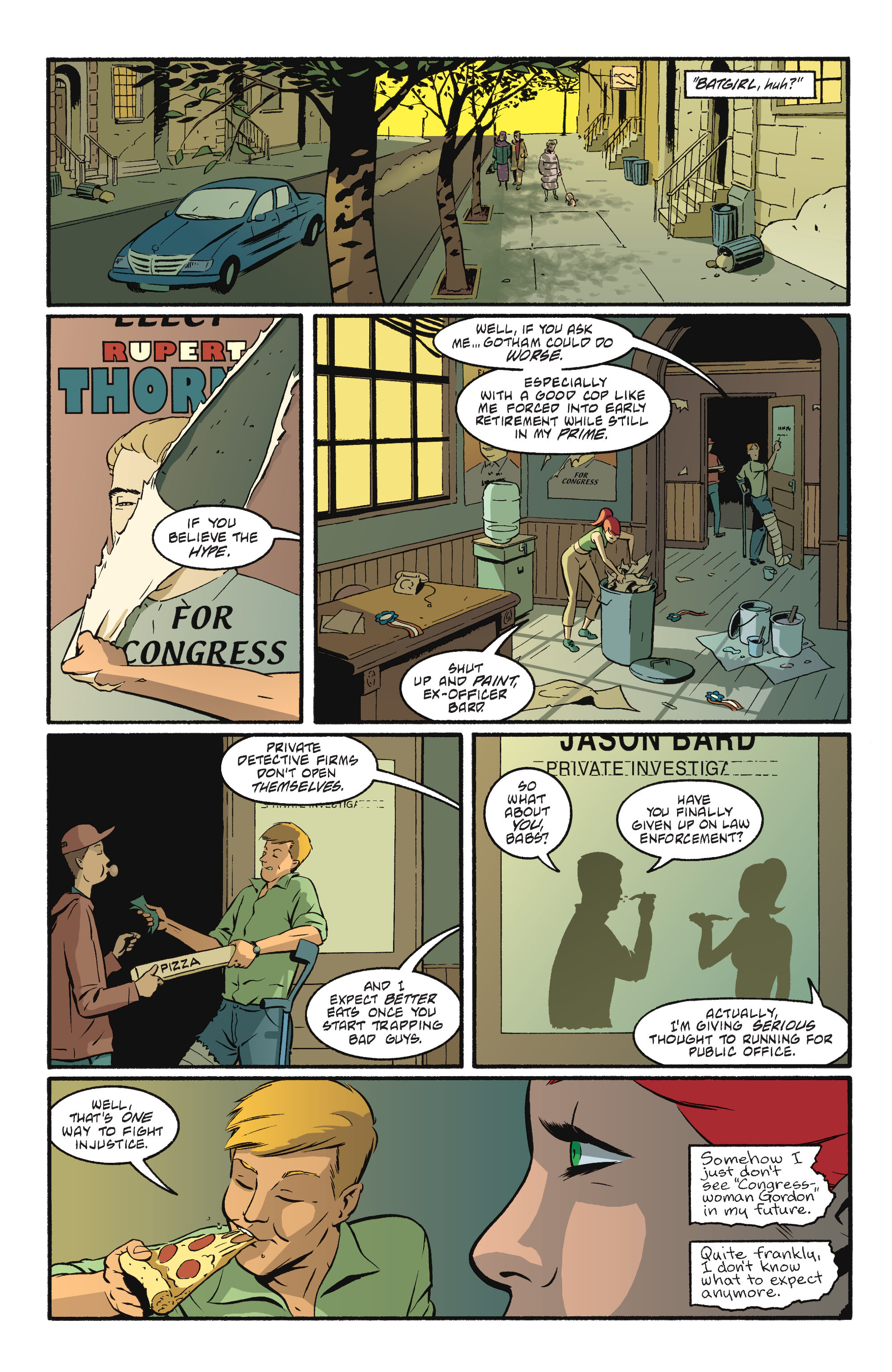 Read online Batgirl/Robin: Year One comic -  Issue # TPB 2 - 197