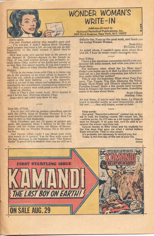 Read online Wonder Woman (1942) comic -  Issue #202 - 26