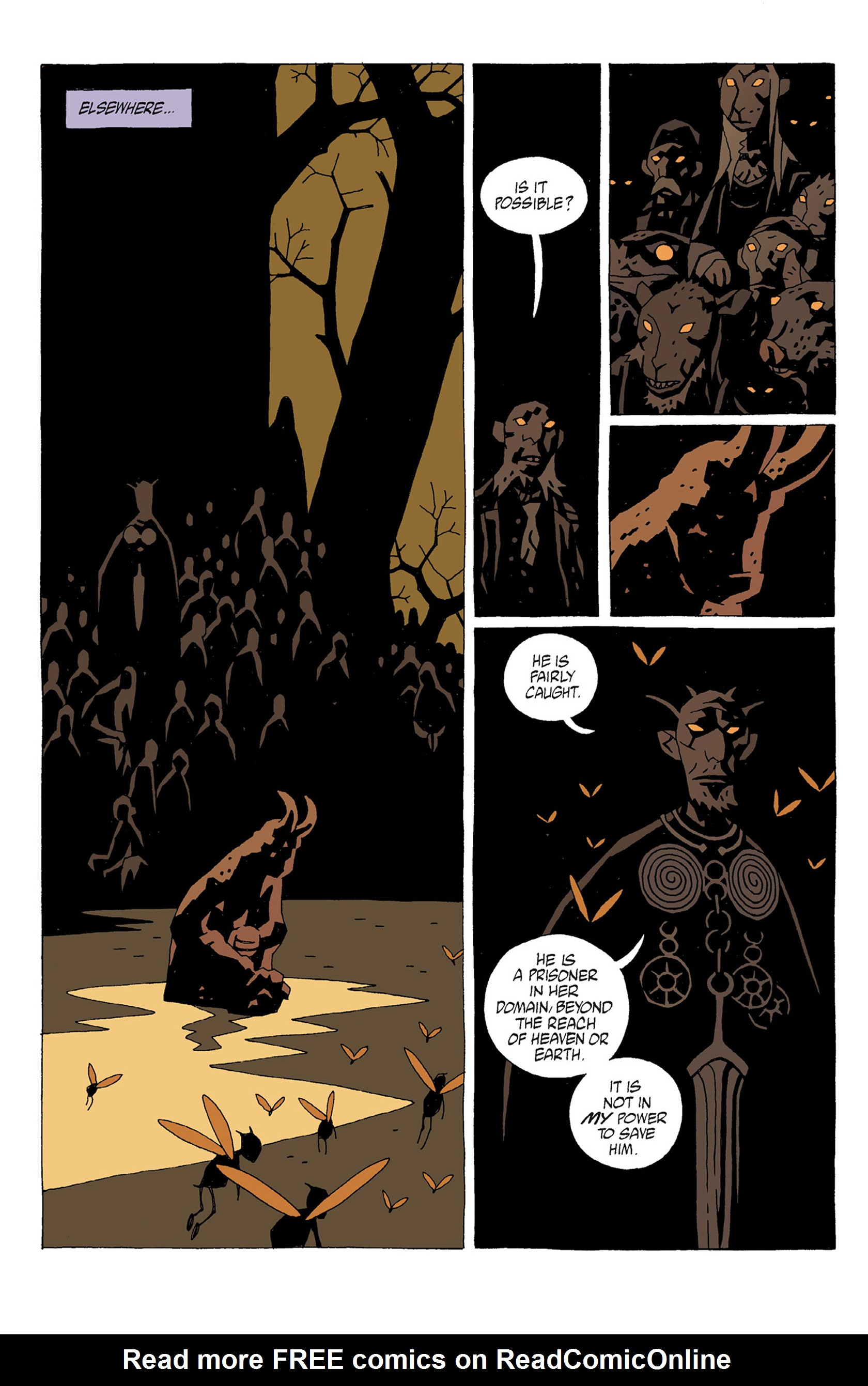 Read online Hellboy: Strange Places comic -  Issue # TPB - 46