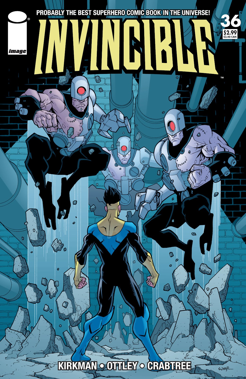 Invincible (2003) issue 36 - Page 1