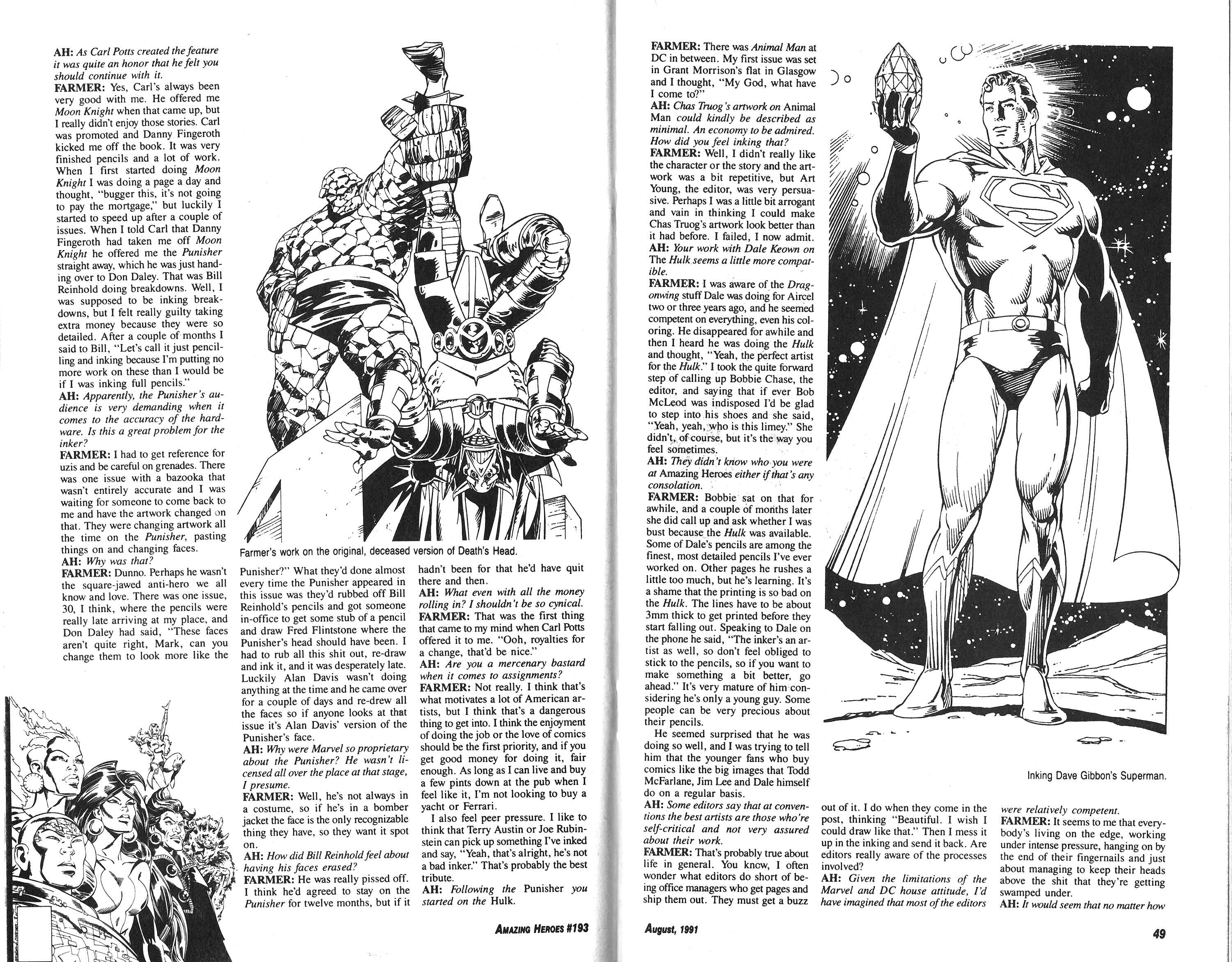 Read online Amazing Heroes comic -  Issue #193 - 25