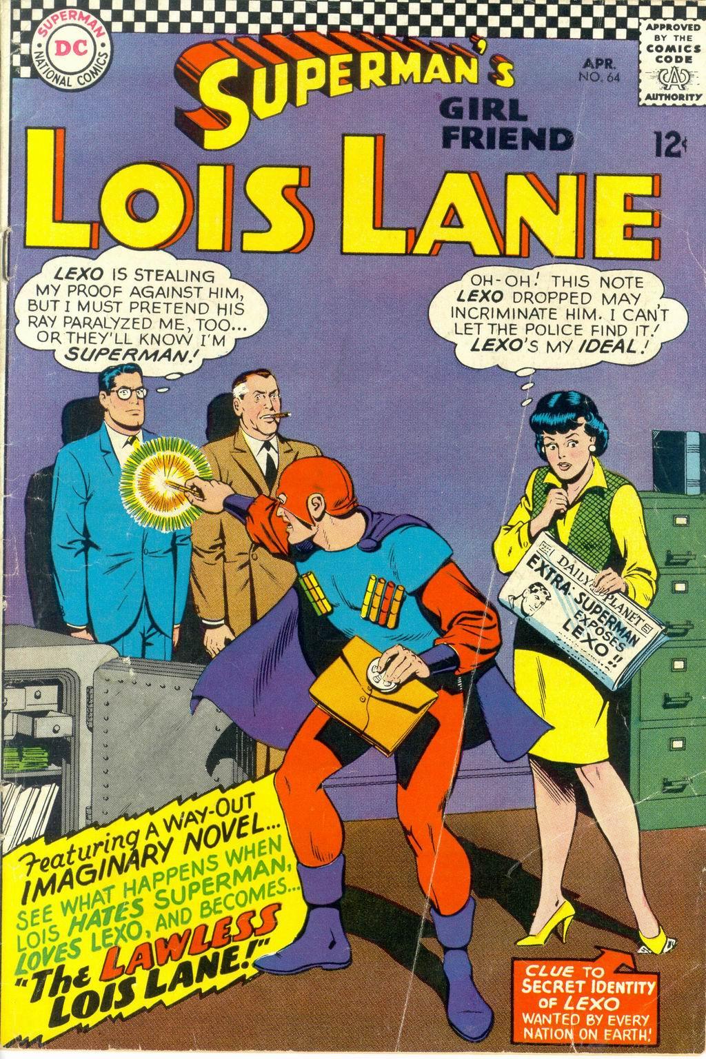 Supermans Girl Friend, Lois Lane 64 Page 1