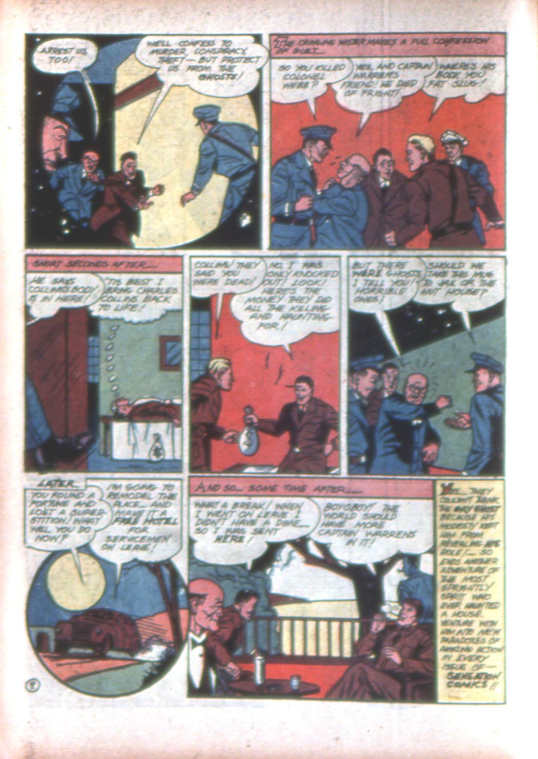 Read online Sensation (Mystery) Comics comic -  Issue #15 - 34