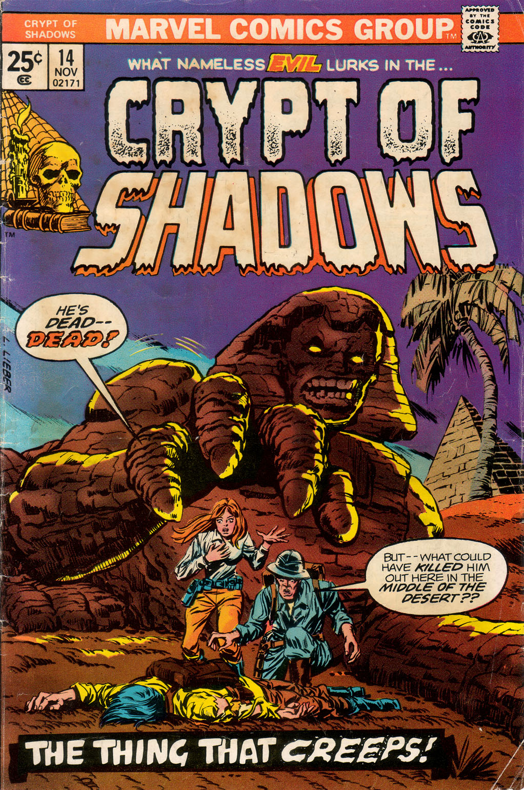 Crypt of Shadows (1973) issue 14 - Page 1