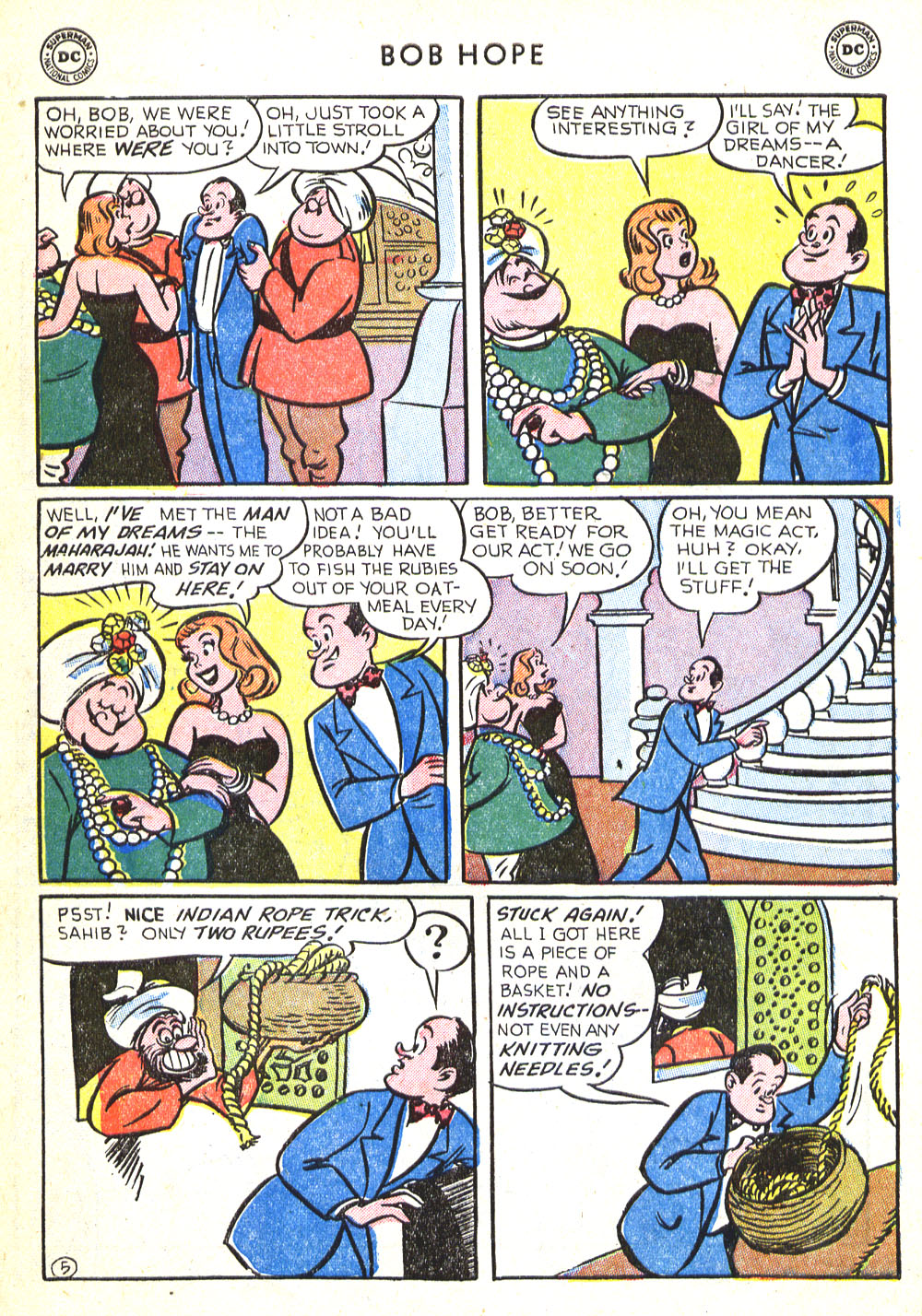 The Adventures of Bob Hope issue 30 - Page 30