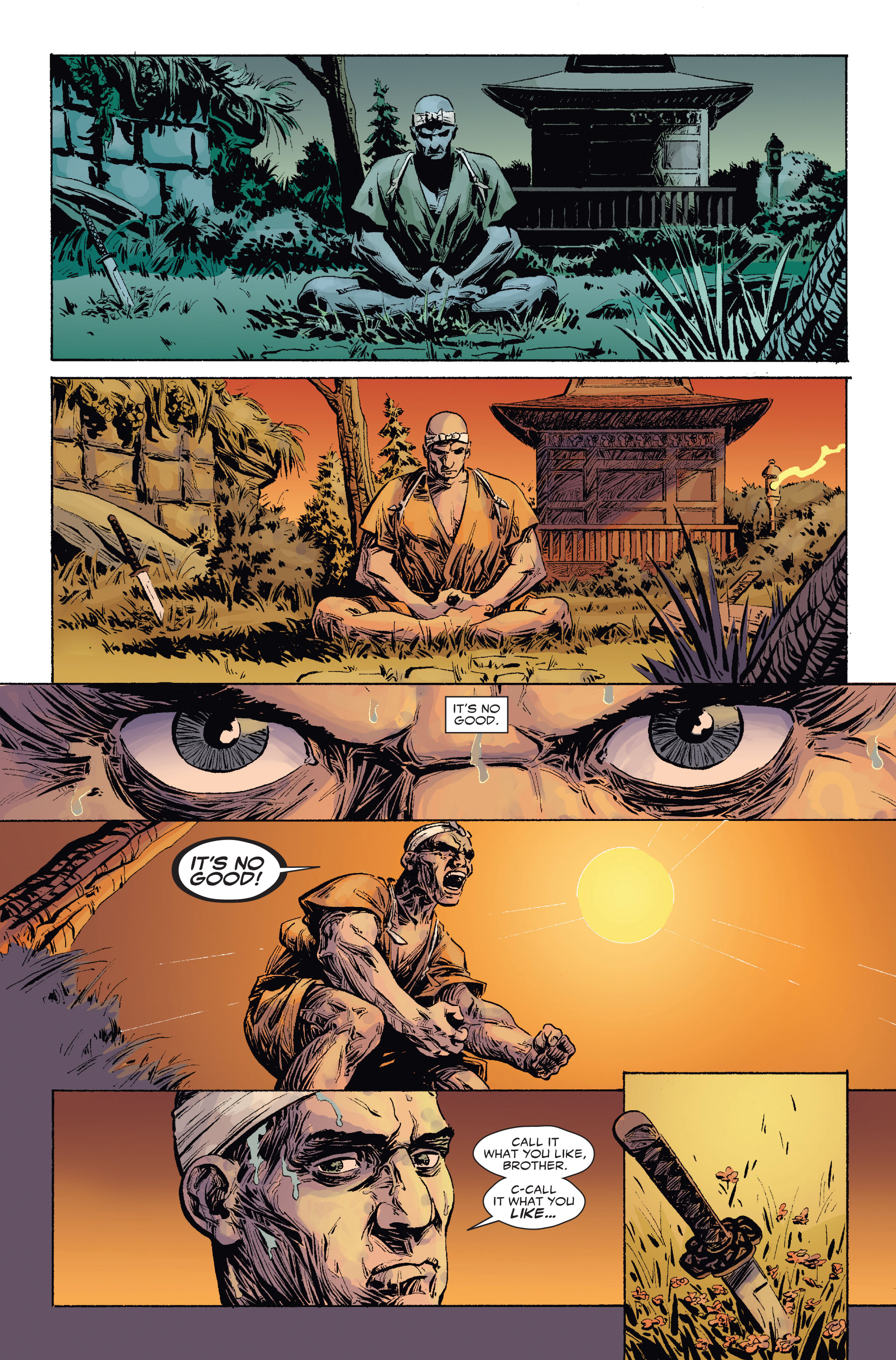 Read online 5 Ronin (2011) comic -  Issue #2 - 11