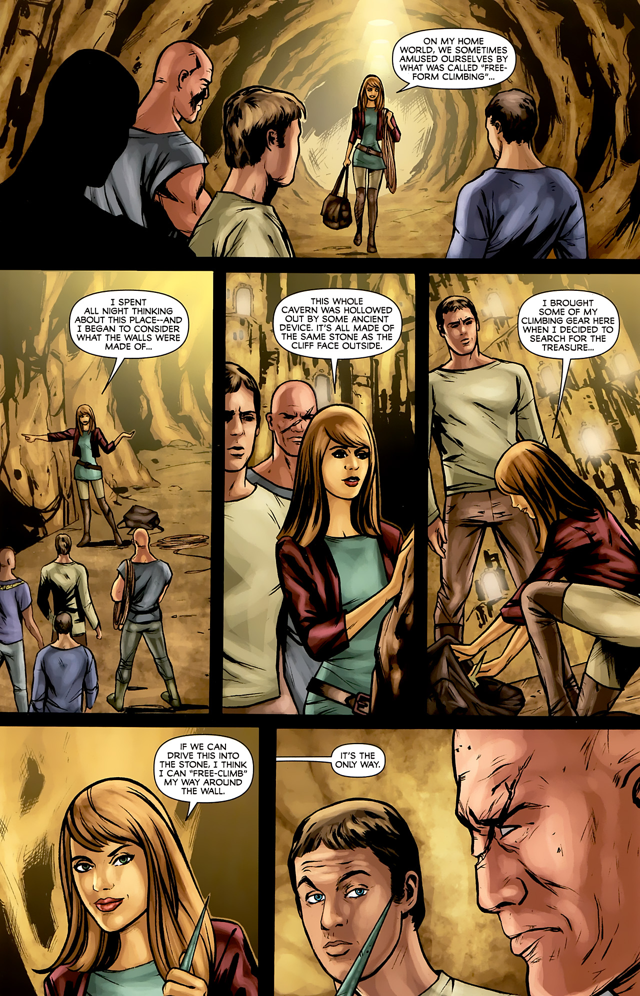 Read online Stargate: Daniel Jackson comic -  Issue #3 - 8