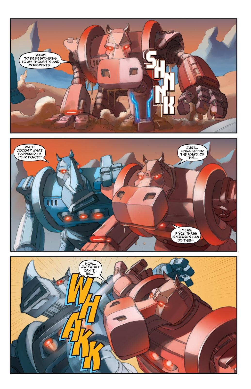 Read online Elephantmen 2261 Season Two: The Pentalion Job comic -  Issue # TPB - 56