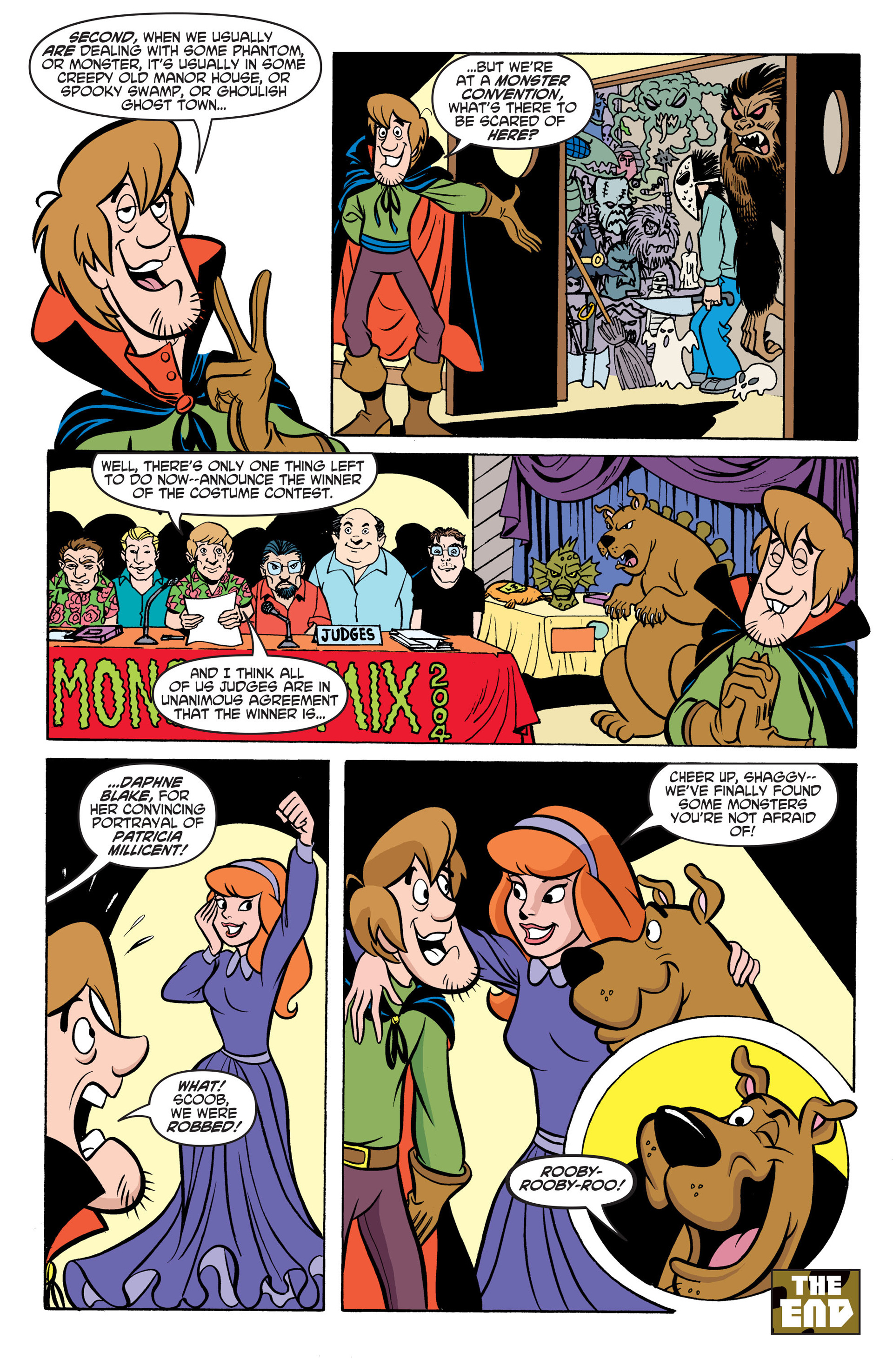 Read online Scooby-Doo: Where Are You? comic -  Issue #46 - 23