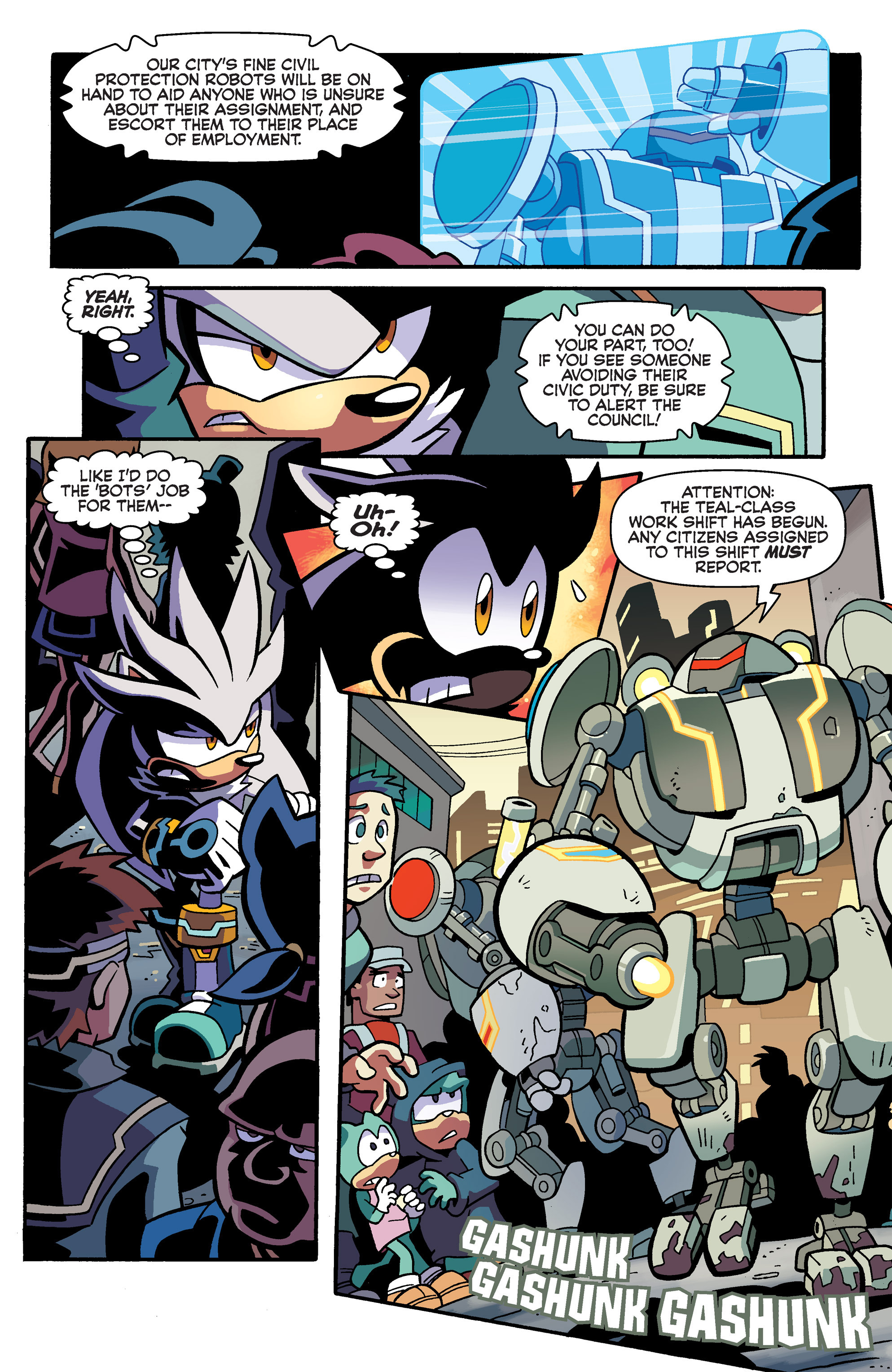 Read online Sonic Universe comic -  Issue #79 - 5