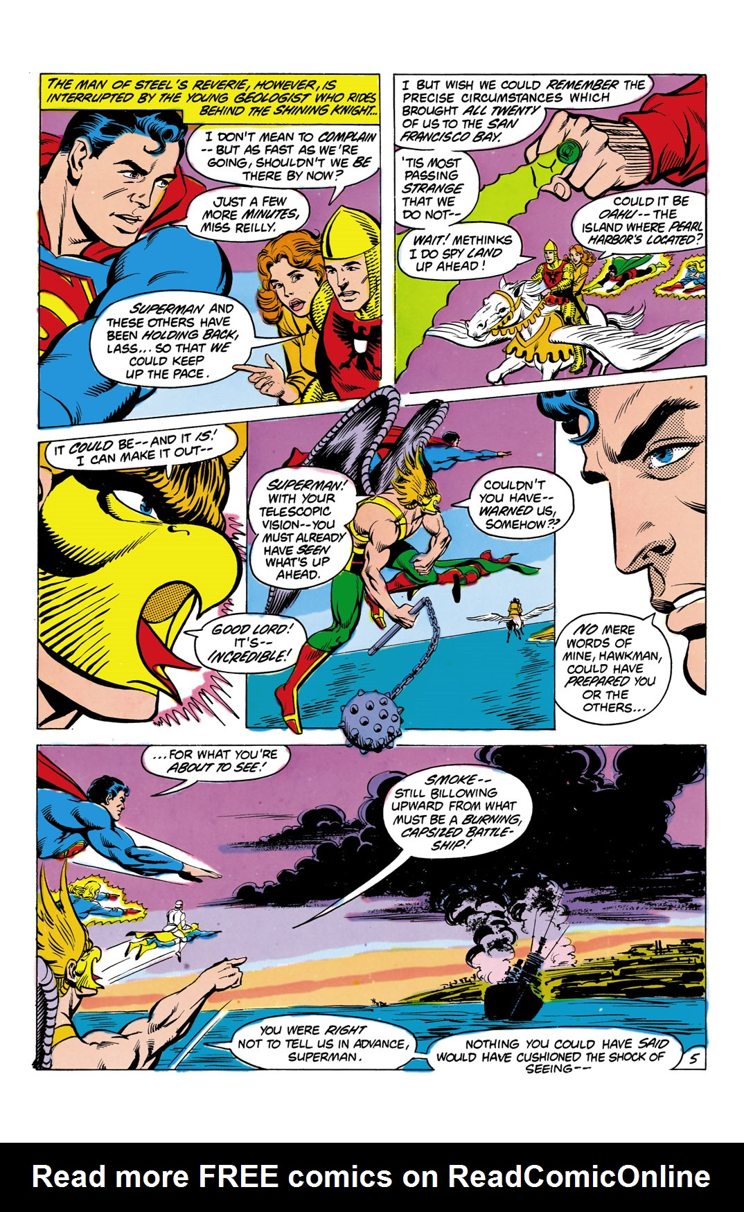 Read online All-Star Squadron comic -  Issue #4 - 6