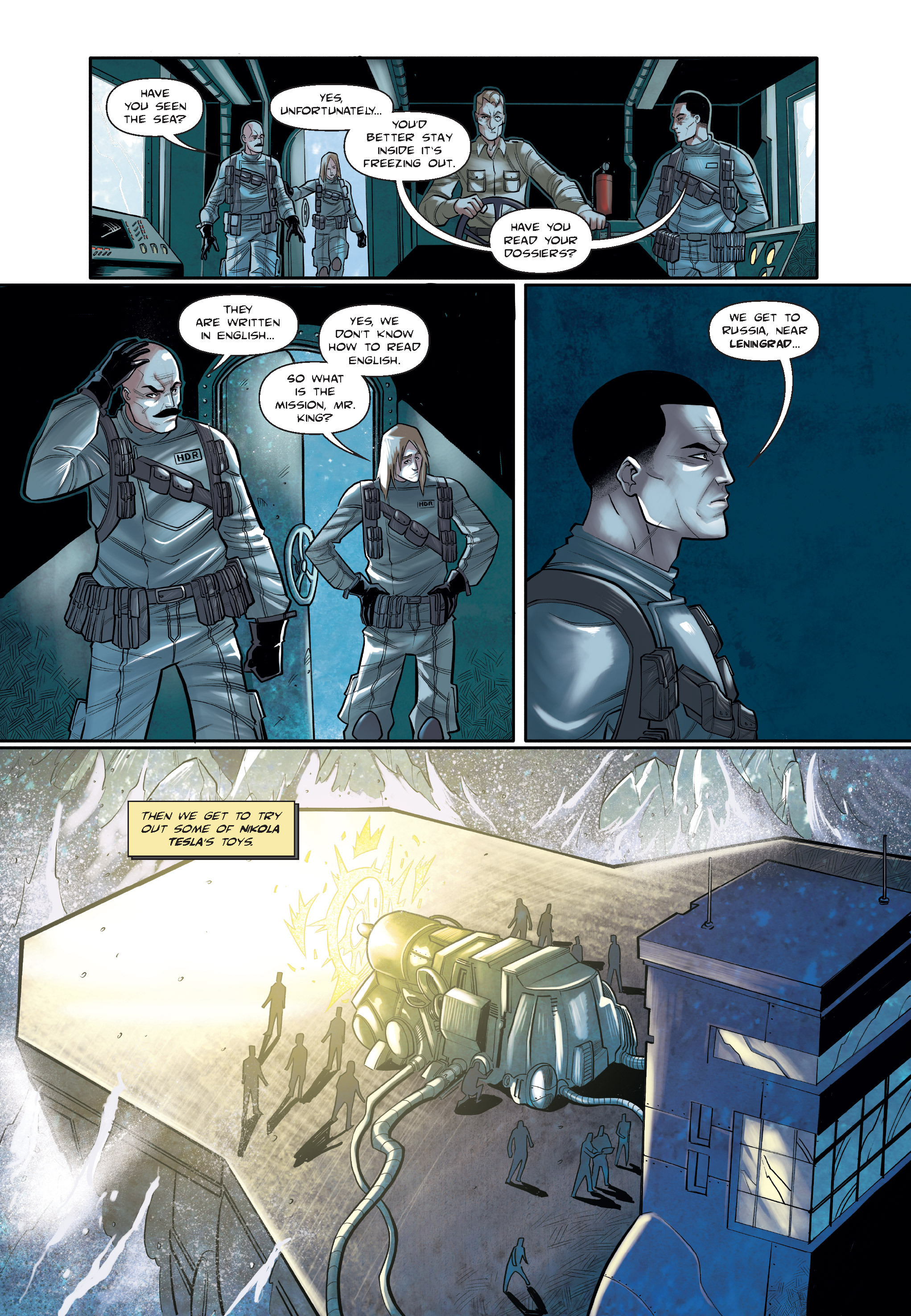 Read online The Shadow of a Terrible Thing comic -  Issue # TPB - 47