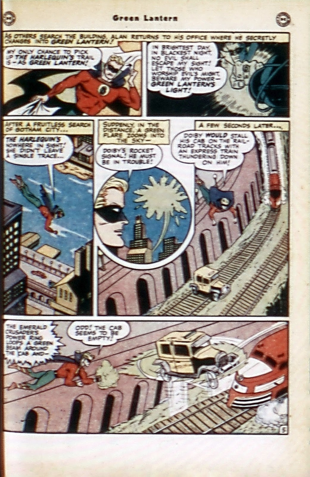 Green Lantern (1941) Issue #32 #32 - English 21