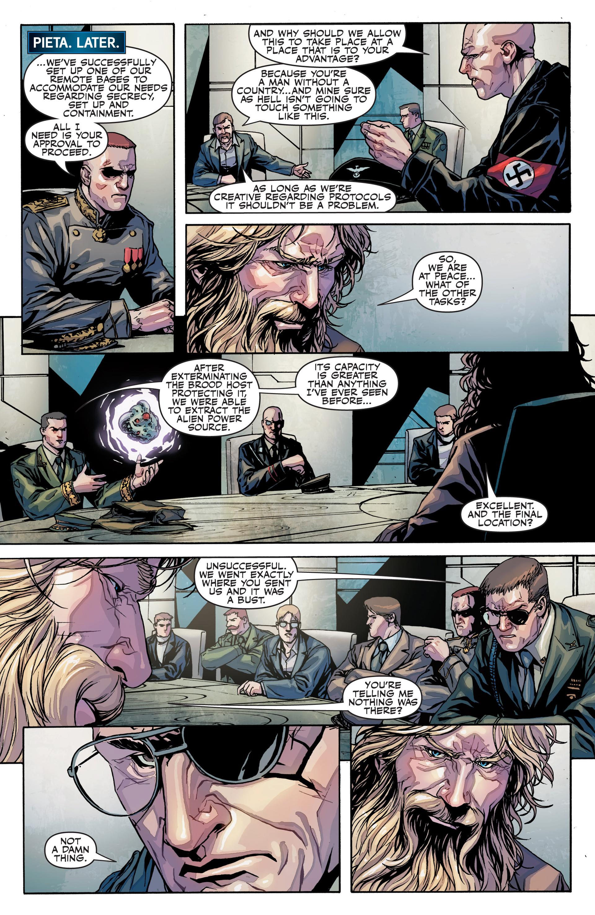 Read online Secret Warriors comic -  Issue #25 - 19