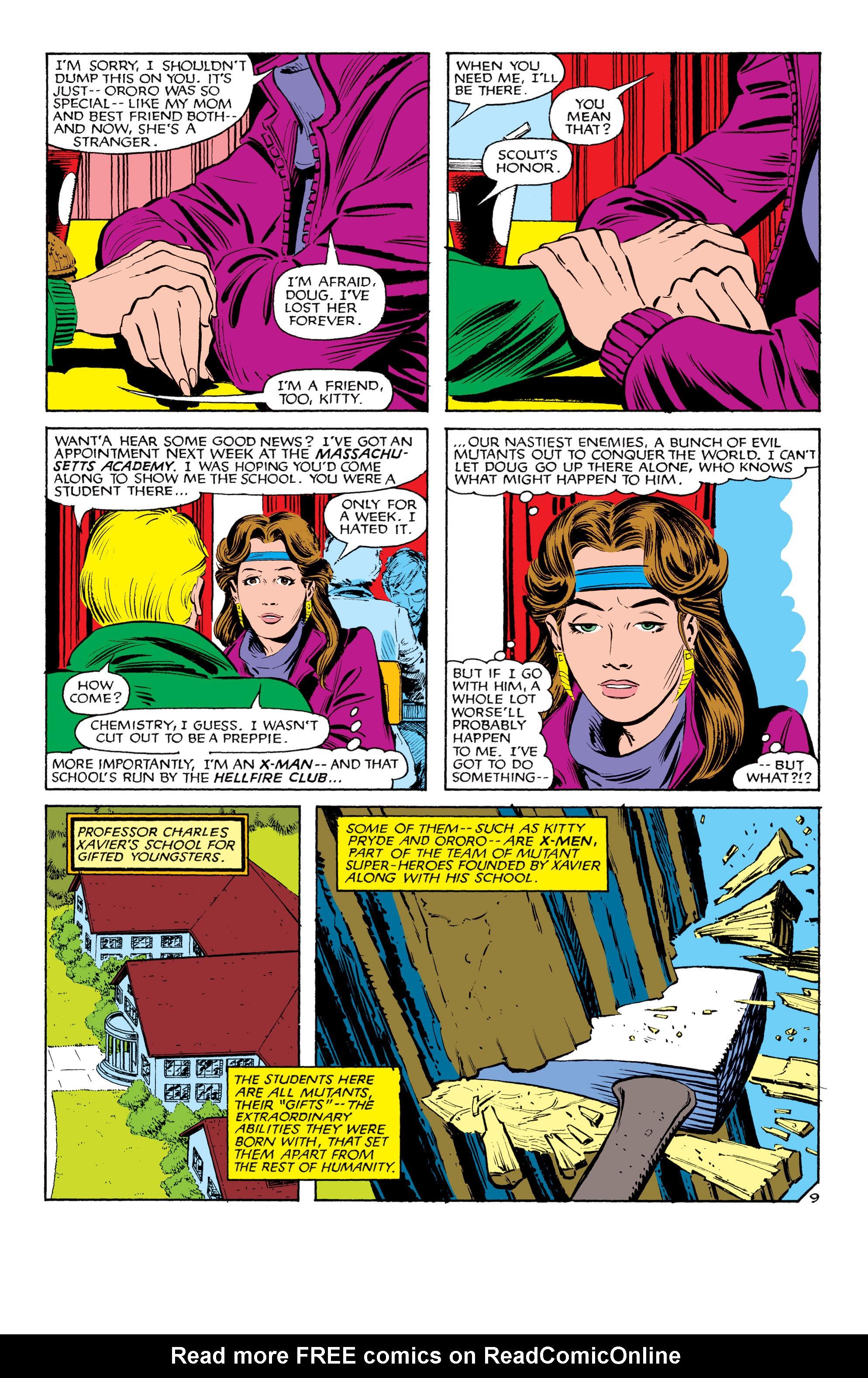 Read online Uncanny X-Men (1963) comic -  Issue #180 - 10