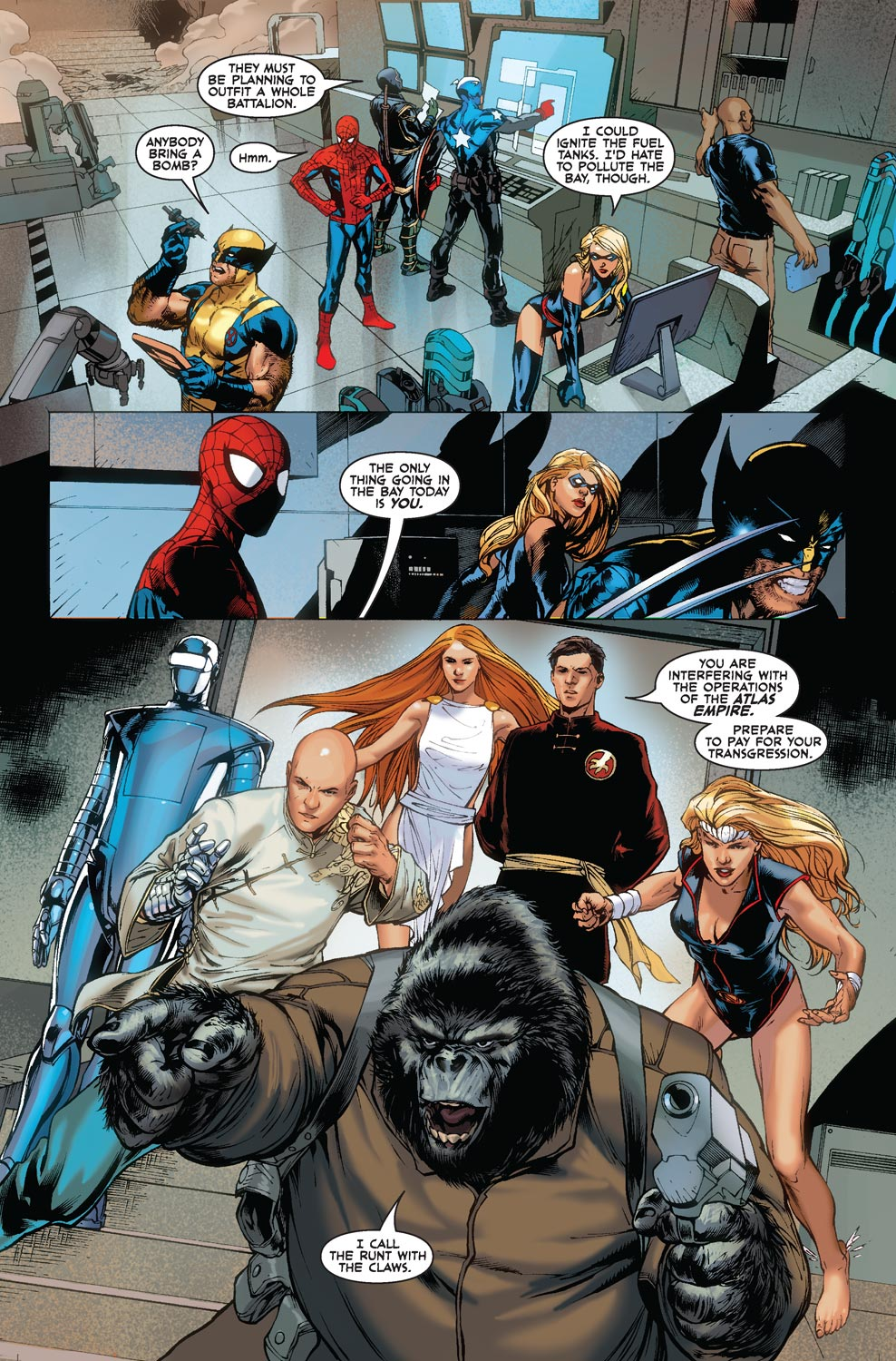 Read online Agents Of Atlas (2009) comic -  Issue #5 - 8