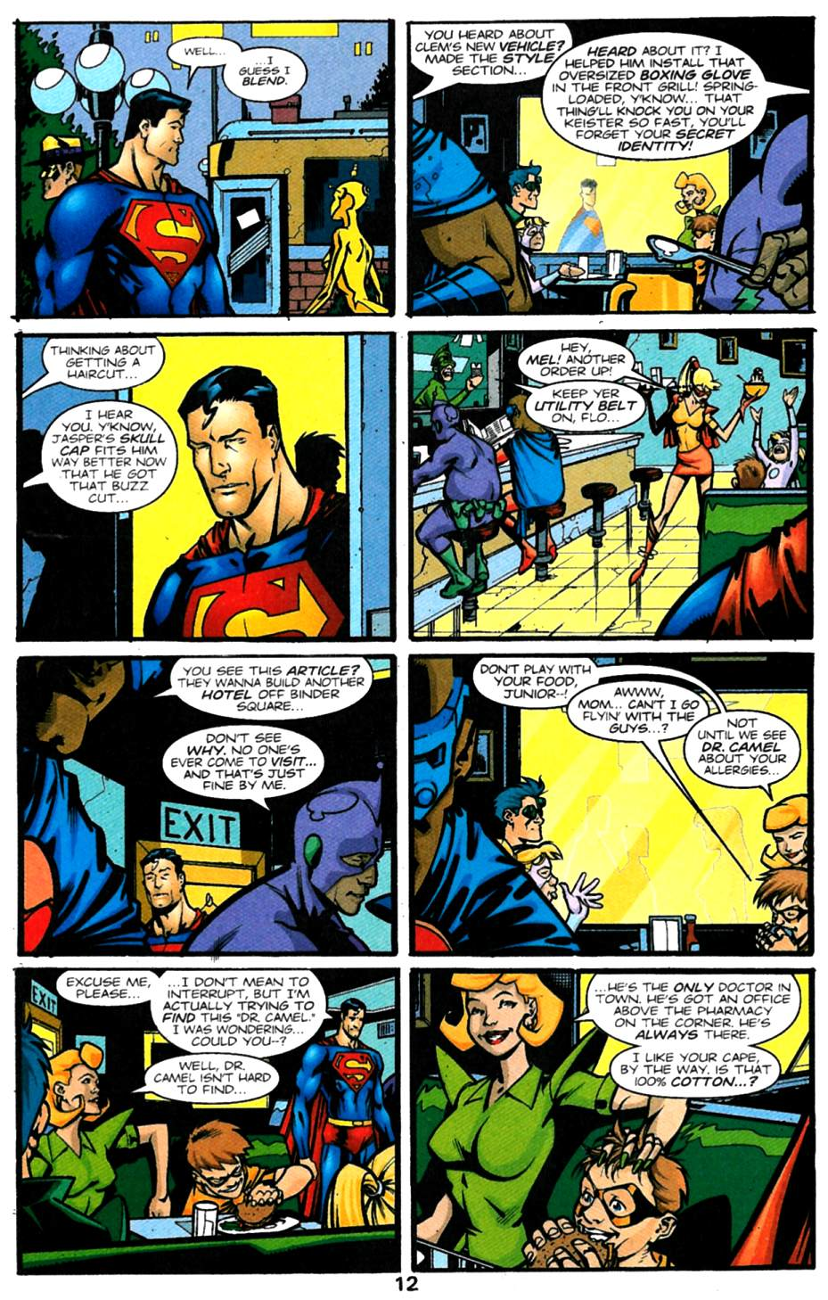 Read online Adventures of Superman (1987) comic -  Issue #614 - 13