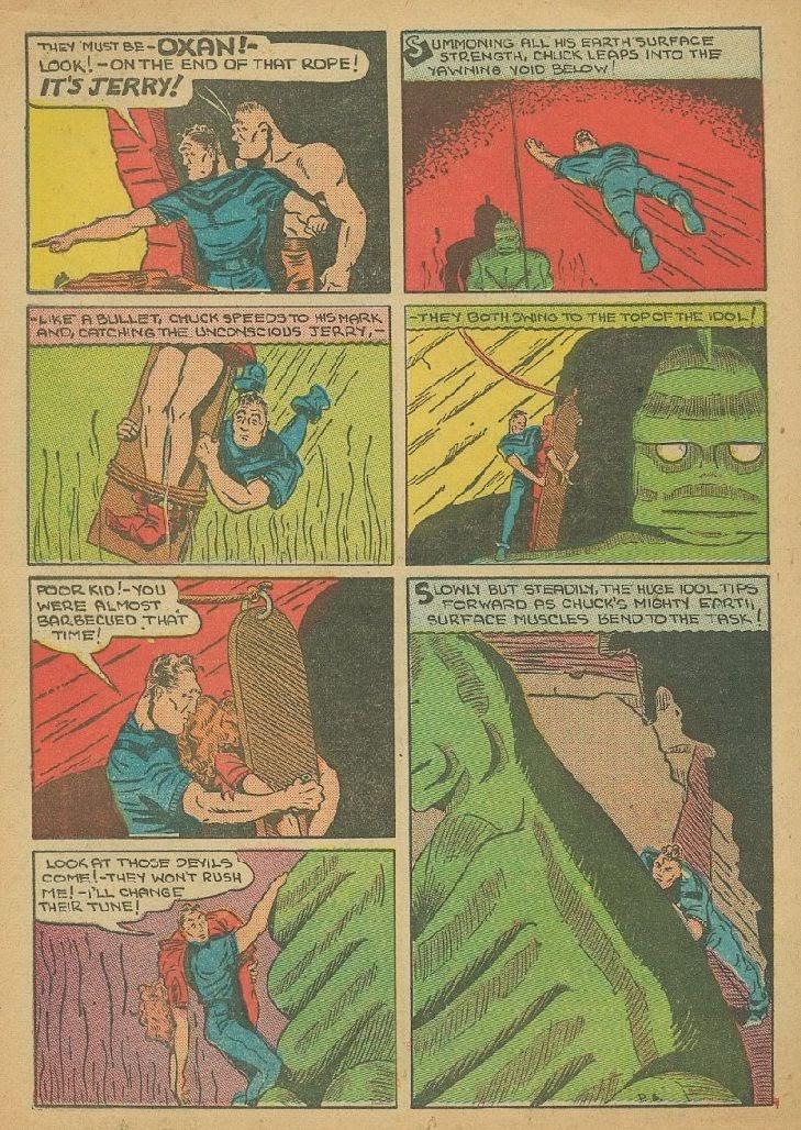 Read online Amazing Man Comics comic -  Issue #9 - 49