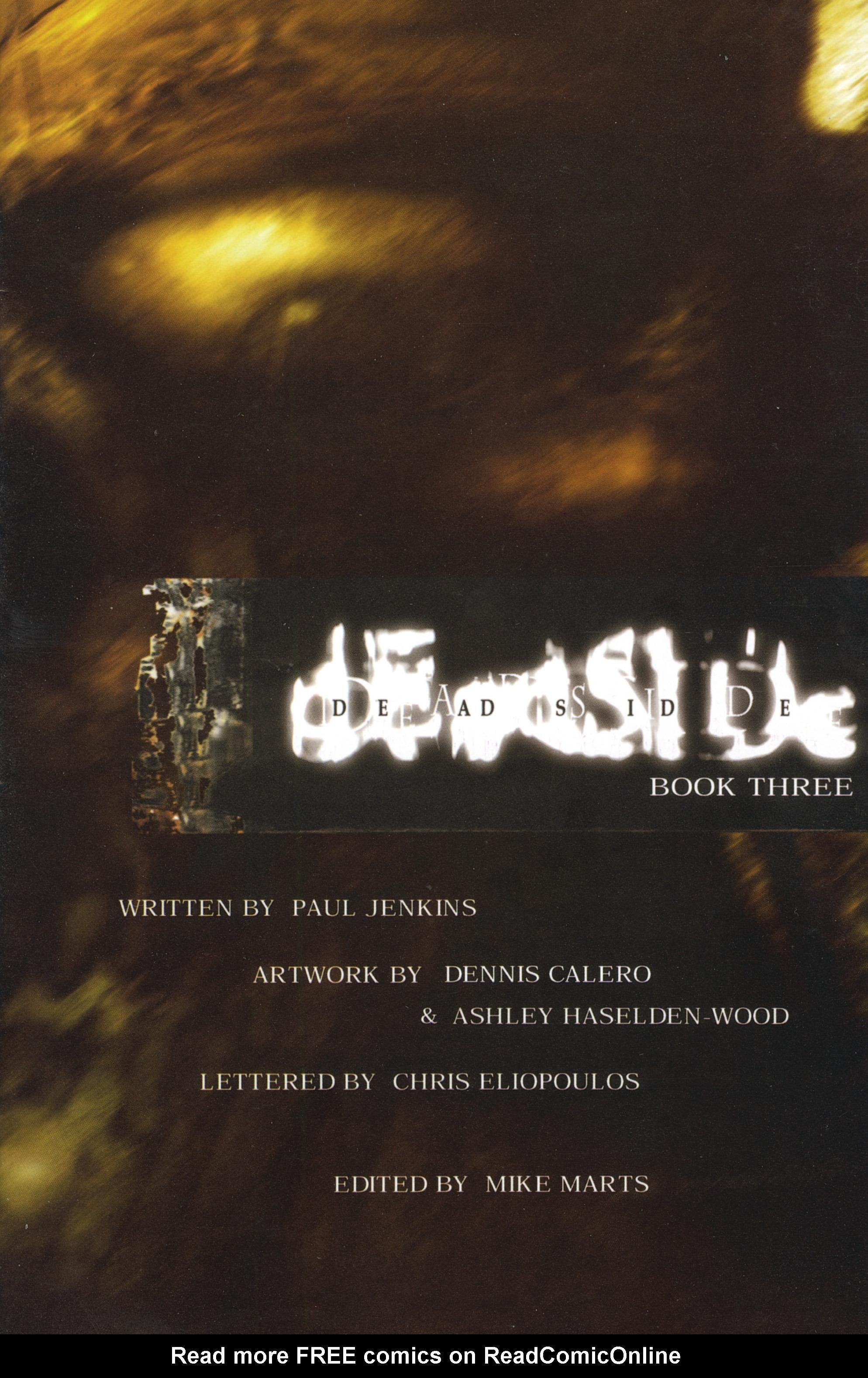 Read online Deadside comic -  Issue #3 - 3