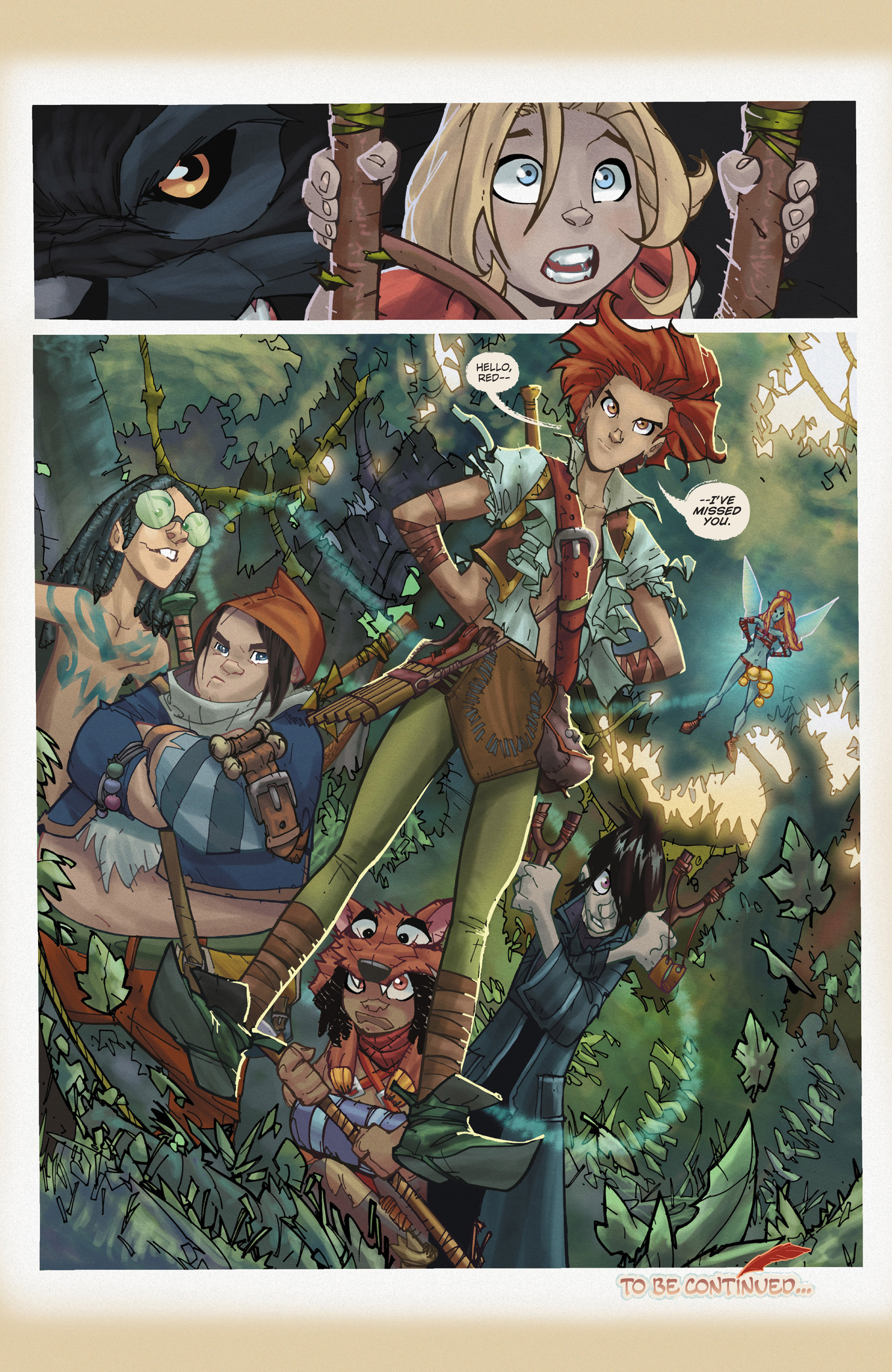 Read online Fairy Quest: Outlaws comic -  Issue #1 - 26