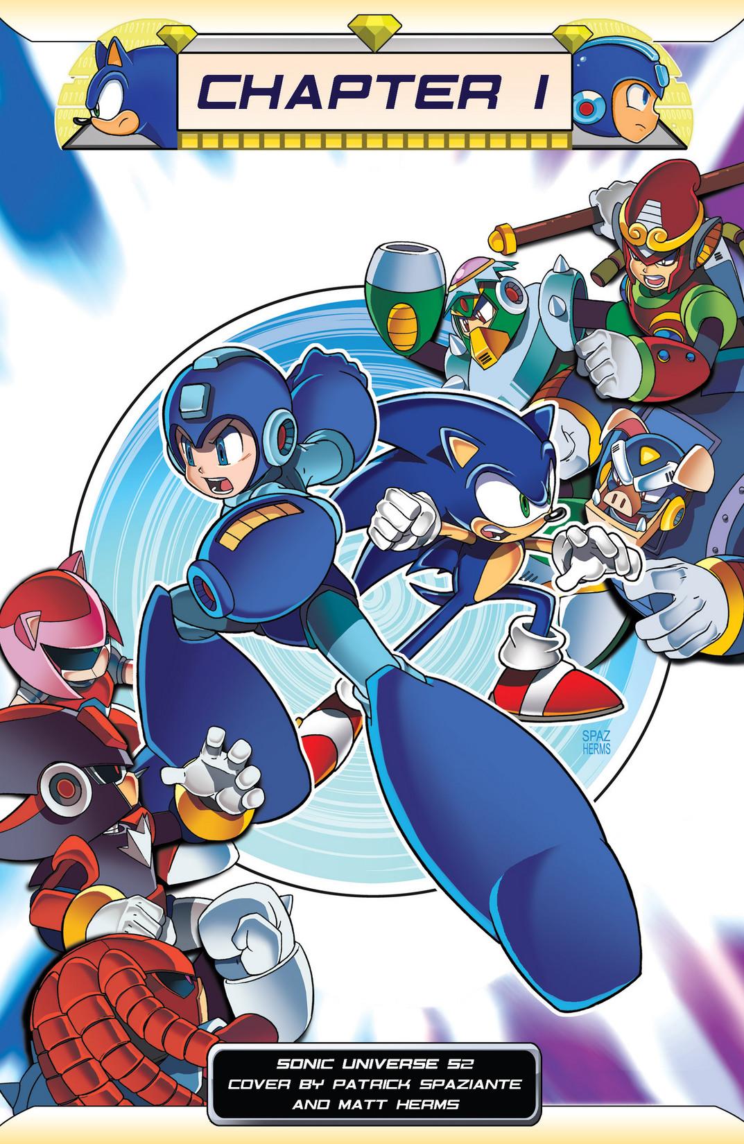 Read online Sonic Mega Man Worlds Collide comic -  Issue # Vol 2 - 7