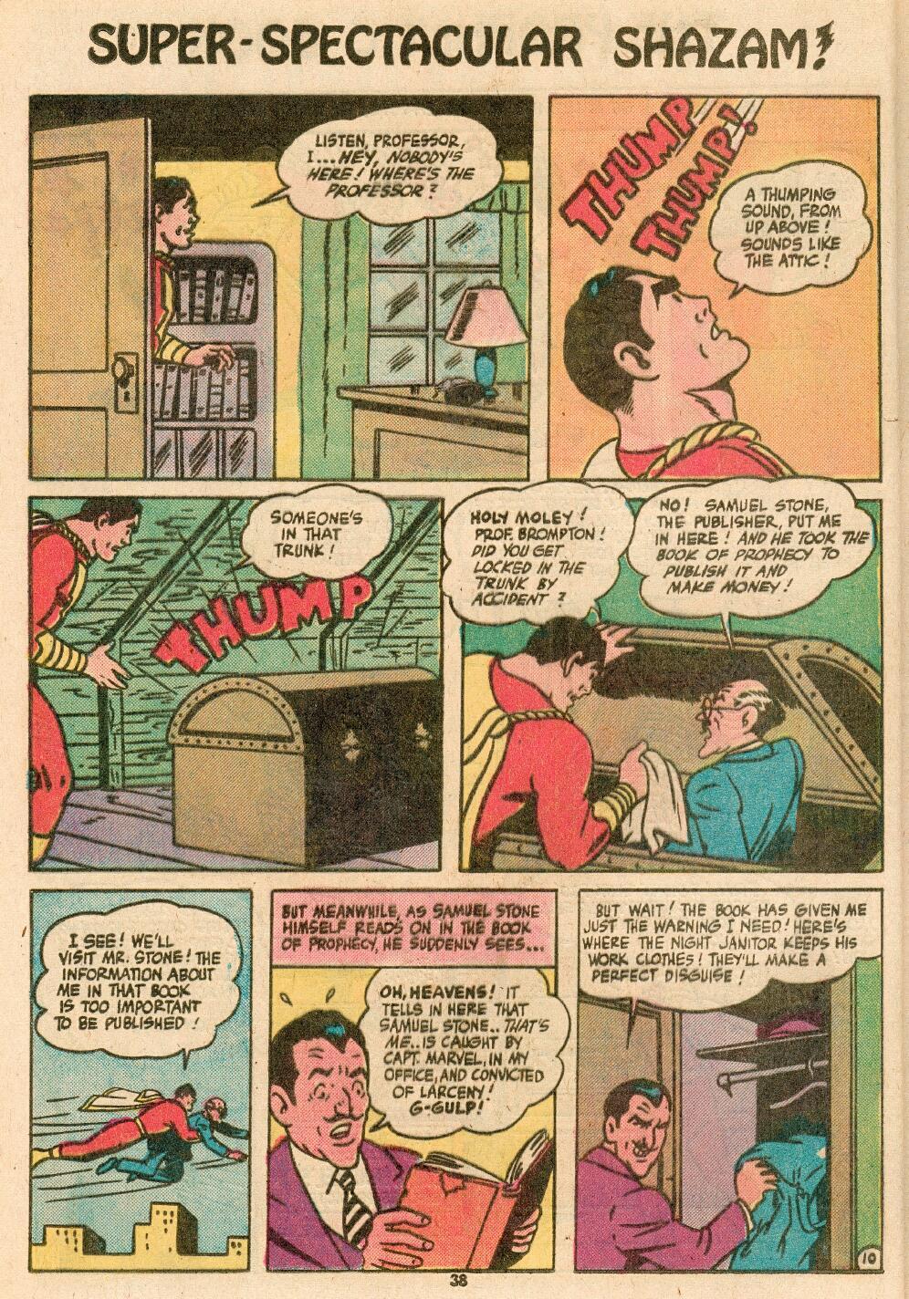 Read online Shazam! (1973) comic -  Issue #14 - 32
