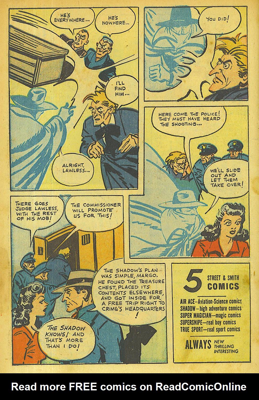 Read online Shadow Comics comic -  Issue #63 - 8