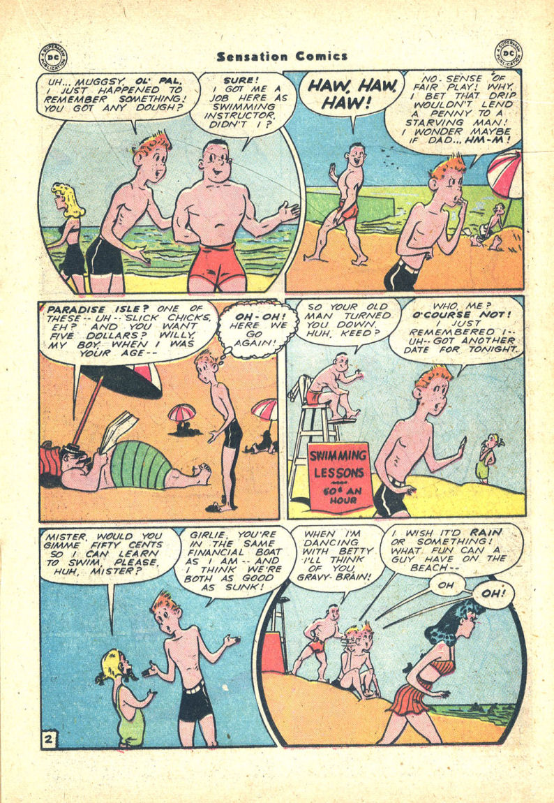 Read online Sensation (Mystery) Comics comic -  Issue #68 - 25
