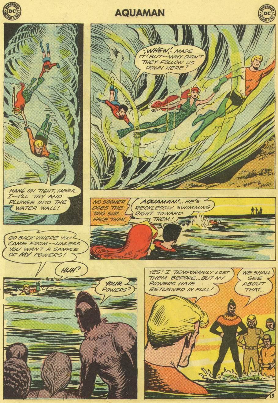 Read online Aquaman (1962) comic -  Issue #11 - 18