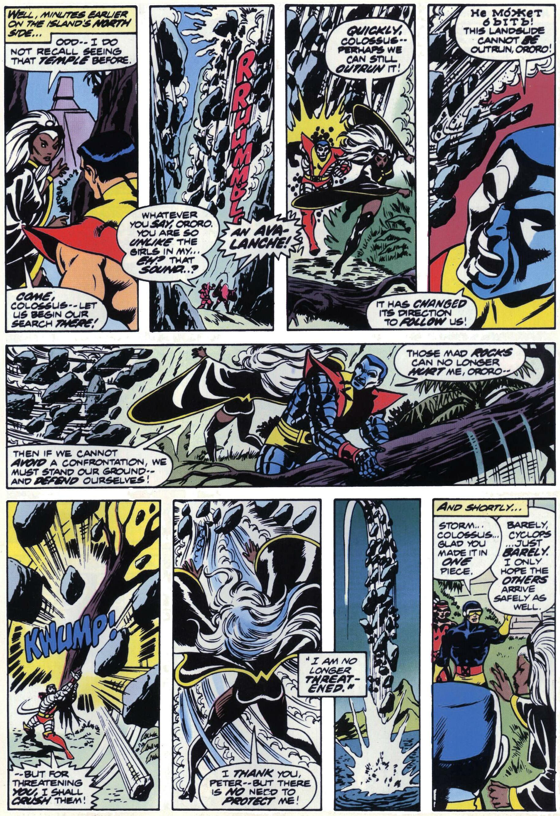 Read online Giant-Size X-Men comic -  Issue #1 - 26