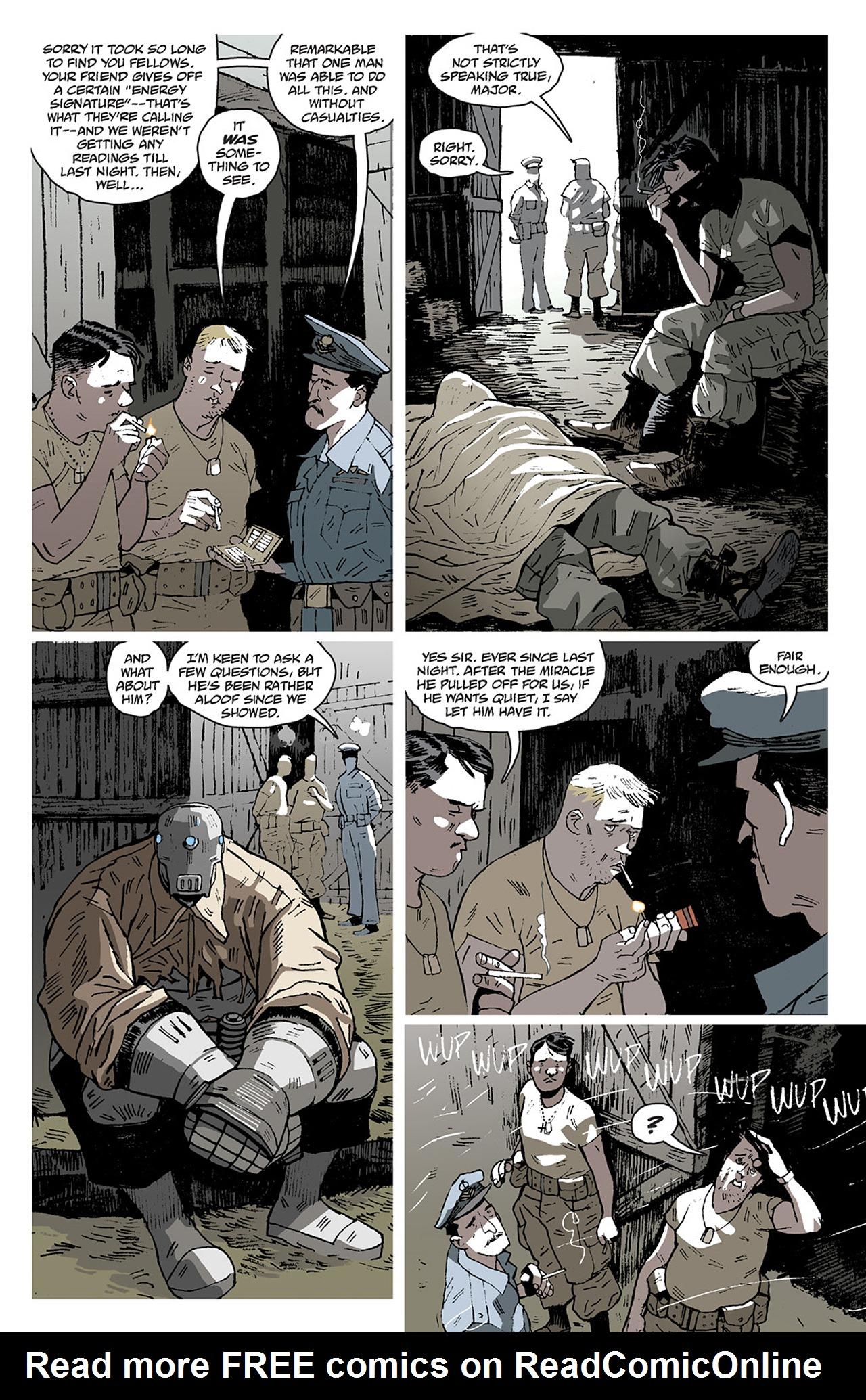 Read online Sledgehammer 44 comic -  Issue #2 - 22