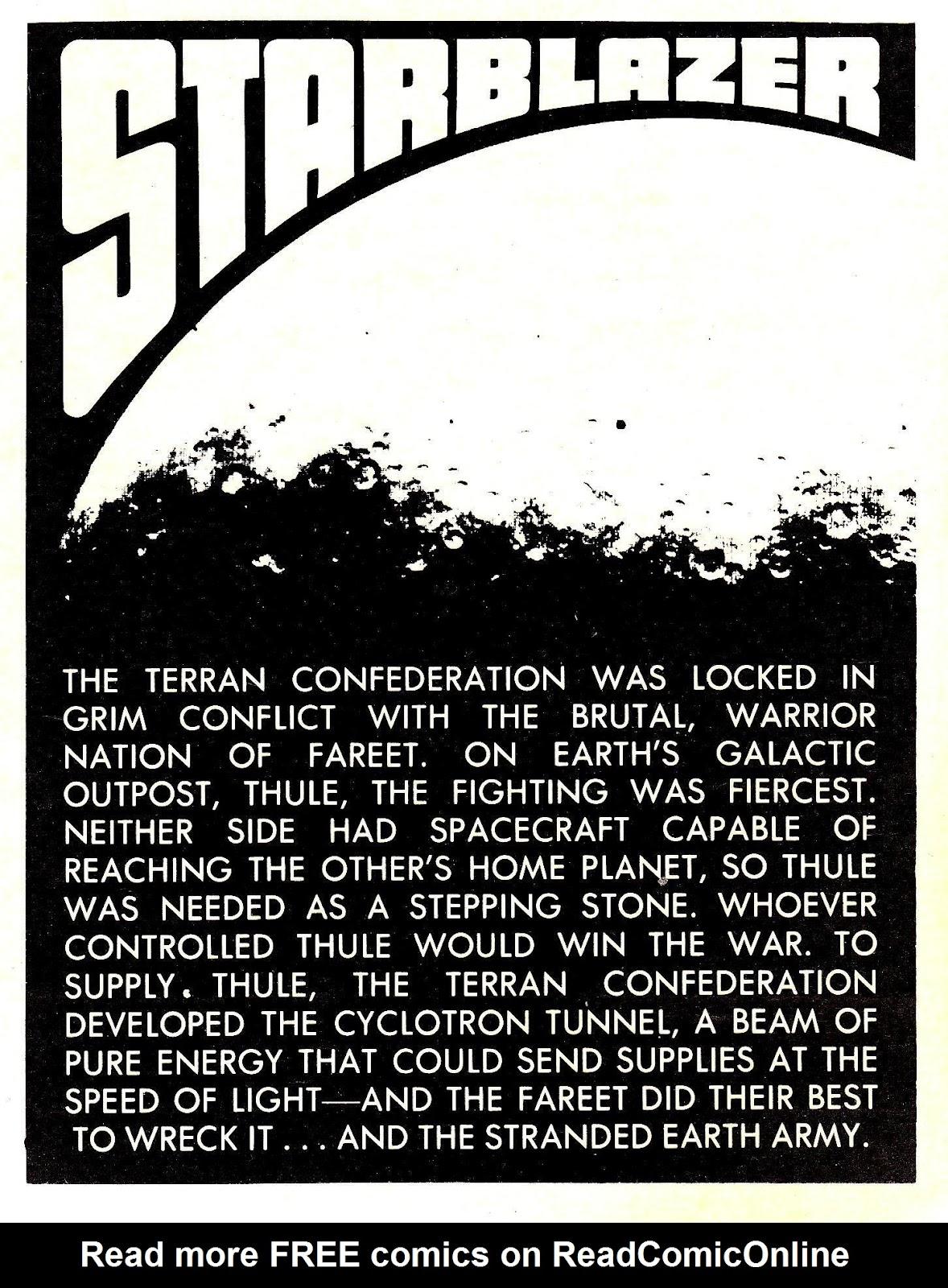 Starblazer issue 72 - Page 2