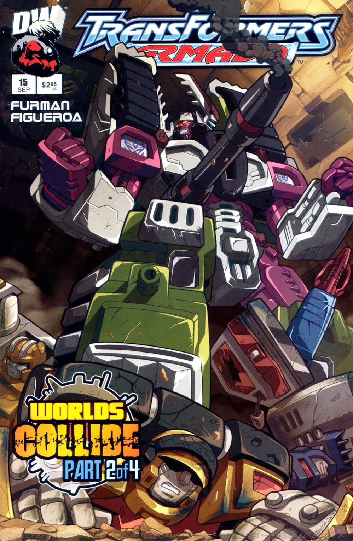 Read online Transformers Armada comic -  Issue #15 - 1