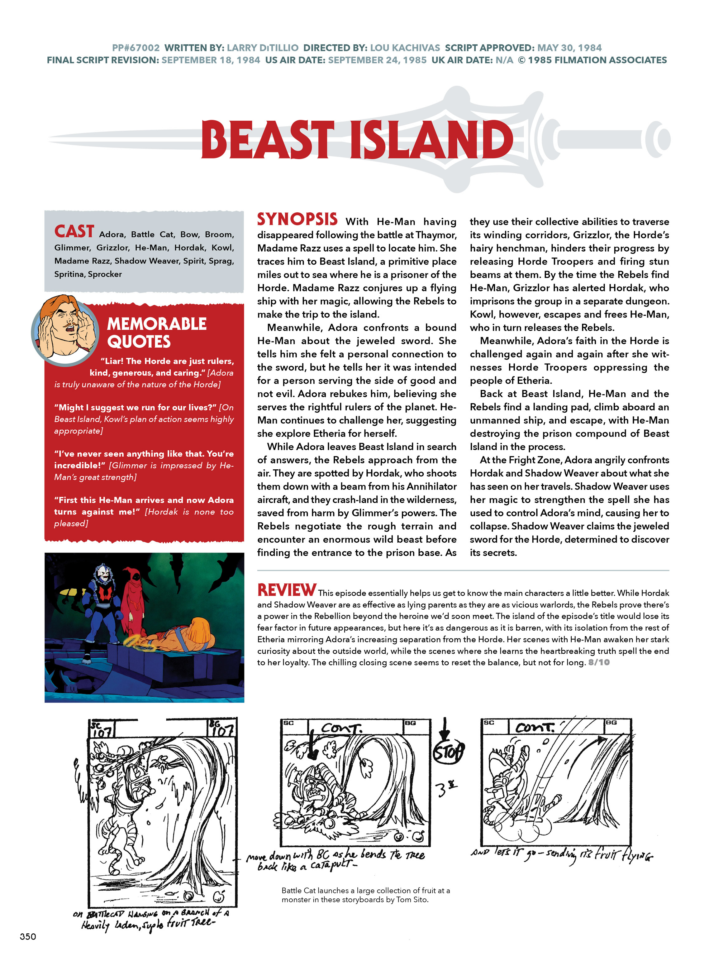 Read online He-Man and She-Ra: A Complete Guide to the Classic Animated Adventures comic -  Issue # TPB (Part 2) - 151