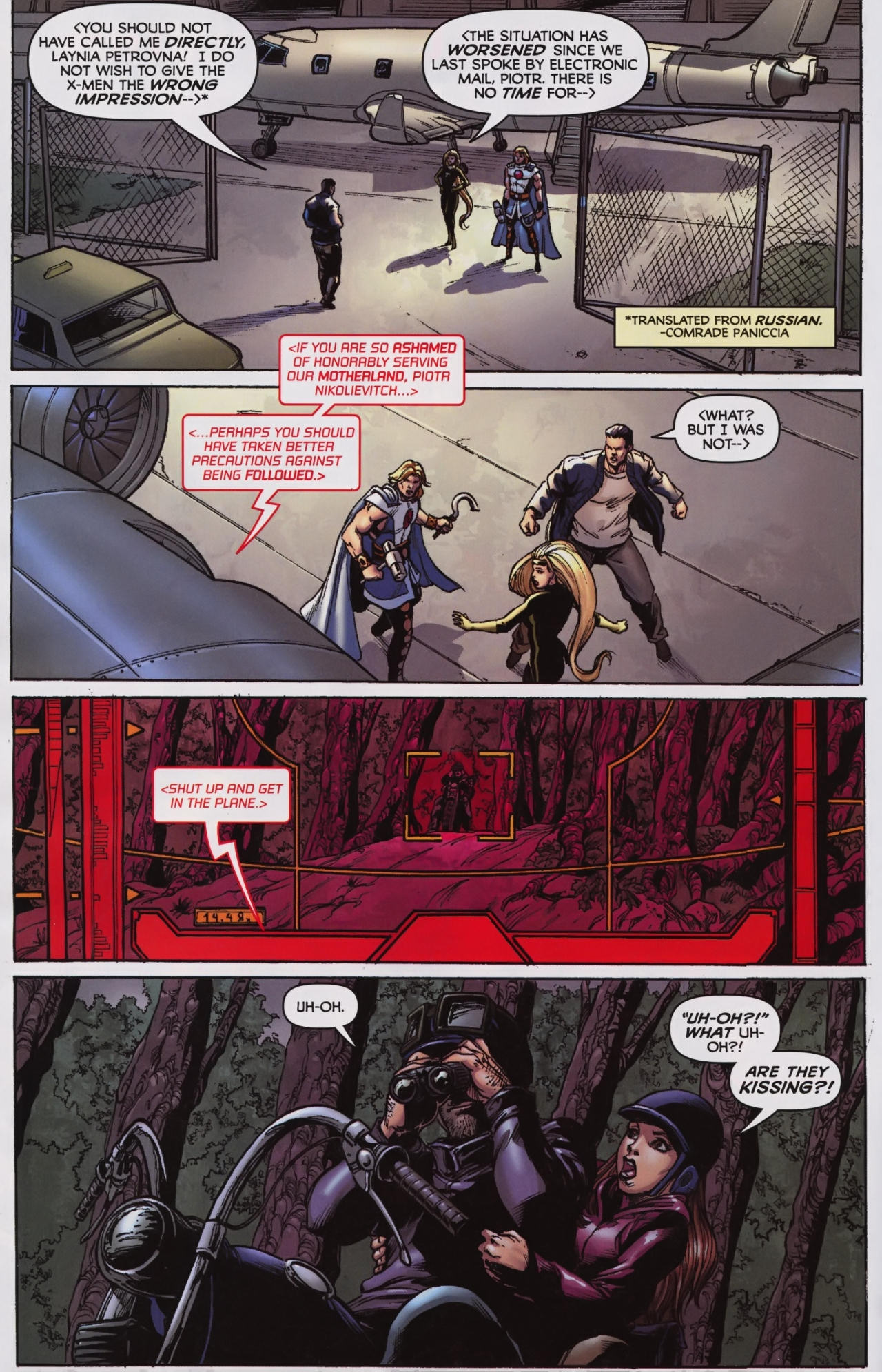 Read online Wolverine: First Class comic -  Issue #7 - 9