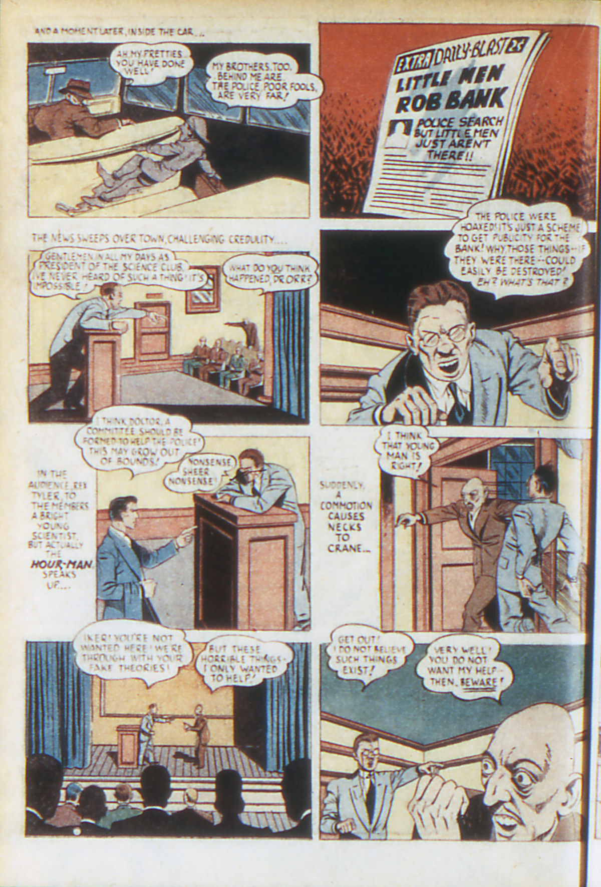 Read online Adventure Comics (1938) comic -  Issue #64 - 35